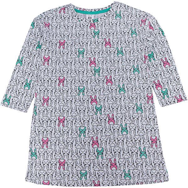 Сорочка для девочки SELAПижамы и сорочки<br>Характеристики товара:<br><br>• цвет: серый<br>• состав: 97% хлопок, 3% ПЭ<br>• удлиненный силуэт<br>• средняя длина рукавов<br>• принт<br>• коллекция весна-лето 2017<br>• страна бренда: Российская Федерация<br><br>Вещи из новой коллекции SELA продолжают радовать удобством! Стильная сорочка для девочки поможет разнообразить гардероб ребенка и обеспечить комфорт. Она отлично сочетается с юбками и брюками. В составе материала - натуральный хлопок.<br><br>Одежда, обувь и аксессуары от российского бренда SELA не зря пользуются большой популярностью у детей и взрослых! Модели этой марки - стильные и удобные, цена при этом неизменно остается доступной. Для их производства используются только безопасные, качественные материалы и фурнитура. Новая коллекция поддерживает хорошие традиции бренда! <br><br>Сорочку для девочки от популярного бренда SELA (СЕЛА) можно купить в нашем интернет-магазине.<br>Ширина мм: 281; Глубина мм: 70; Высота мм: 188; Вес г: 295; Цвет: серый; Возраст от месяцев: 72; Возраст до месяцев: 84; Пол: Женский; Возраст: Детский; Размер: 116/122,104/110,92/98,140/146,128/134; SKU: 5305741;