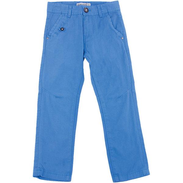 Брюки для мальчика SELAБрюки<br>Характеристики товара:<br><br>• цвет: синий<br>• состав: 100% хлопок<br>• классический силуэт<br>• застежка - пуговица<br>• шлевки<br>• страна бренда: Российская Федерация<br><br>Вещи из новой коллекции SELA продолжают радовать удобством! Стильные брюки для мальчика помогут разнообразить гардероб ребенка и стать базовой вещью. <br><br>Брюки для мальчика от популярного бренда SELA (СЕЛА) можно купить в нашем интернет-магазине.<br><br>Ширина мм: 215<br>Глубина мм: 88<br>Высота мм: 191<br>Вес г: 336<br>Цвет: синий<br>Возраст от месяцев: 96<br>Возраст до месяцев: 108<br>Пол: Мужской<br>Возраст: Детский<br>Размер: 134,128,122,116,152,146,140<br>SKU: 5305860