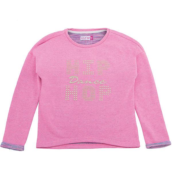 Купить Толстовка для девочки SELA, Китай, розовый, 128, 116, 152, 146, 140, 122, 134, Женский