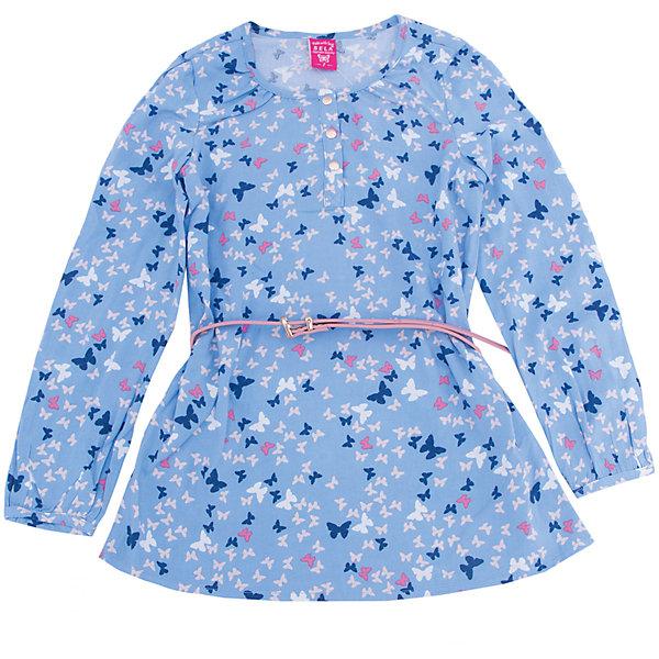 Блуза для девочки SELAБлузки и рубашки<br>Характеристики товара:<br><br>• цвет: голубой<br>• состав: 100% вискоза<br>• декорирована принтом<br>• приталенная<br>• длинные рукава<br>• округлый горловой вырез<br>• коллекция весна-лето 2017<br>• страна бренда: Российская Федерация<br><br>В новой коллекции SELA отличные модели одежды! Эта блуза для девочки поможет разнообразить гардероб ребенка и обеспечить комфорт. Она отлично сочетается с юбками и брюками. Стильная и удобная вещь!<br><br>Одежда, обувь и аксессуары от российского бренда SELA не зря пользуются большой популярностью у детей и взрослых! Модели этой марки - стильные и удобные, цена при этом неизменно остается доступной. Для их производства используются только безопасные, качественные материалы и фурнитура. Новая коллекция поддерживает хорошие традиции бренда! <br><br>Блузу для девочки от популярного бренда SELA (СЕЛА) можно купить в нашем интернет-магазине.<br>Ширина мм: 186; Глубина мм: 87; Высота мм: 198; Вес г: 197; Цвет: голубой; Возраст от месяцев: 108; Возраст до месяцев: 120; Пол: Женский; Возраст: Детский; Размер: 140,134,128,122,152,146; SKU: 5306944;