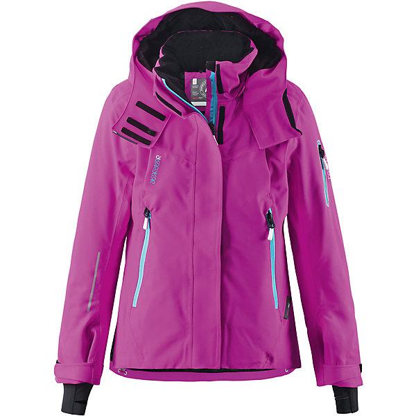 Куртка Moirana Reimatec®+ ReimaОдежда<br>Зимняя куртка для подростков.Все швы проклеены и водонепроницаемы. Водо- и ветронепроницаемый, «дышащий» и грязеотталкивающий материал. Место соединения куртки с брюками скрыто снегозащитной манжетой. Крой для девочек. Гладкая подкладка из полиэстра. Безопасный, отстегивающийся и регулируемый капюшон.Регулируемые манжеты и внутренние манжеты из лайкры. Удлиненные манжеты. Регулируемый подол, снегозащитный манжет на талии. Новая усовершенствованная молния — больше не застревает! Молнии контрастного цвета. Карман для очков, внутренний нагрудный карман и петли для проводов наушников.Карманы на молнии. Карман на рукаве с пластинчатым разъемом для датчика ReimaGO® .<br>Состав:<br>100% ПЭ, ПУ-покрытие<br>Ширина мм: 356; Глубина мм: 10; Высота мм: 245; Вес г: 519; Цвет: розовый; Возраст от месяцев: 108; Возраст до месяцев: 120; Пол: Женский; Возраст: Детский; Размер: 140,104,110,116,122,128,134; SKU: 5309283;