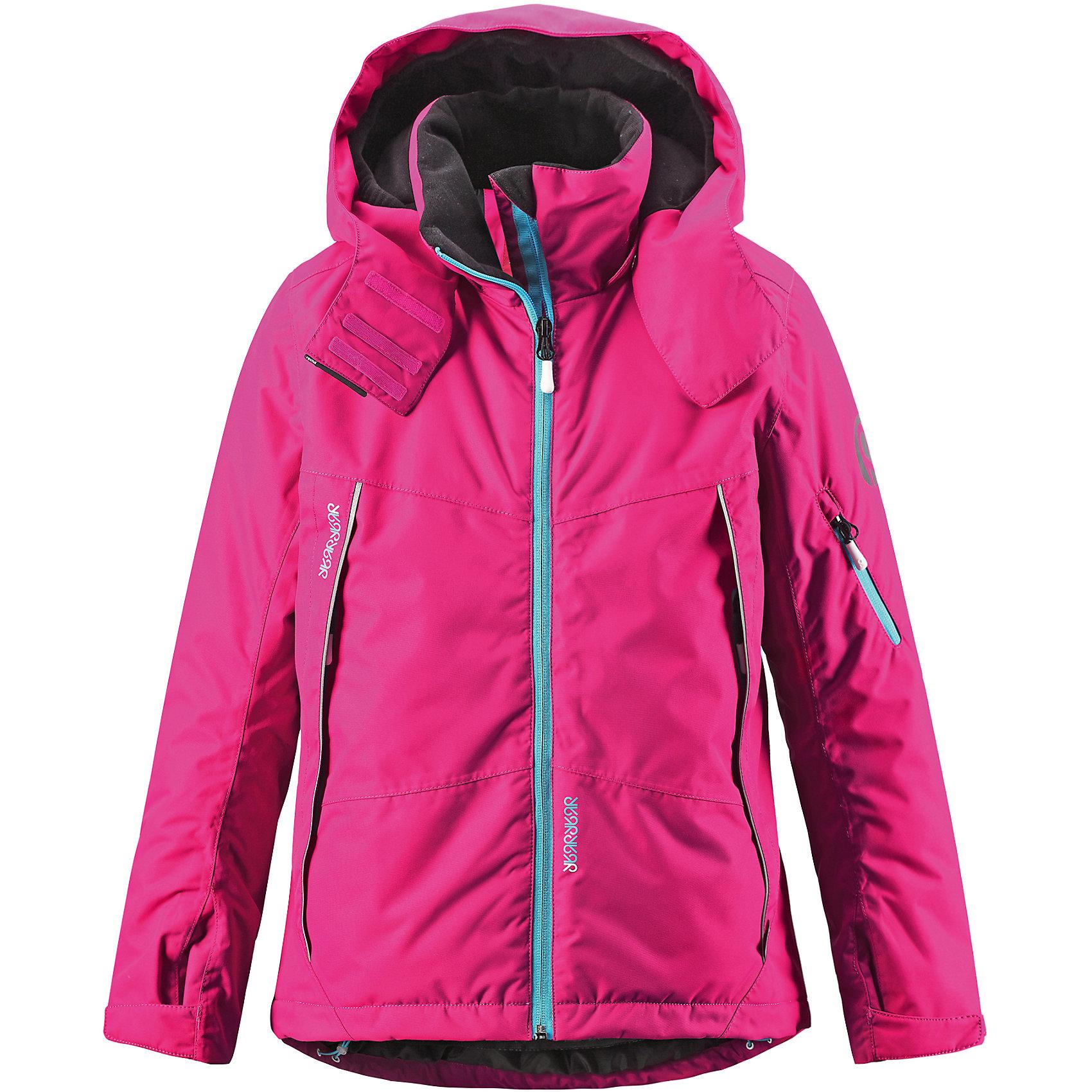 Куртка Rinne ReimaОдежда<br>Зимняя куртка для подростков. Основные швы проклеены и не пропускают влагу. Водо- и ветронепроницаемый, «дышащий» и грязеотталкивающий материал. Крой для девочек. Гладкая подкладка из полиэстра. Безопасный, отстегивающийся и регулируемый капюшон. Регулируемые манжеты и внутренние манжеты из лайкры. Регулируемый подол, снегозащитный манжет на талии .Новая усовершенствованная молния — больше не застревает! Молнии контрастного цвета. Карманы на молнии, карман для skipass на рукаве. Карман для очков и внутренний нагрудный карман .<br>Состав:<br>100% ПЭ, ПУ-покрытие<br><br>Ширина мм: 356<br>Глубина мм: 10<br>Высота мм: 245<br>Вес г: 519<br>Цвет: розовый<br>Возраст от месяцев: 108<br>Возраст до месяцев: 120<br>Пол: Унисекс<br>Возраст: Детский<br>Размер: 140,146,122,128,134,116<br>SKU: 5309291