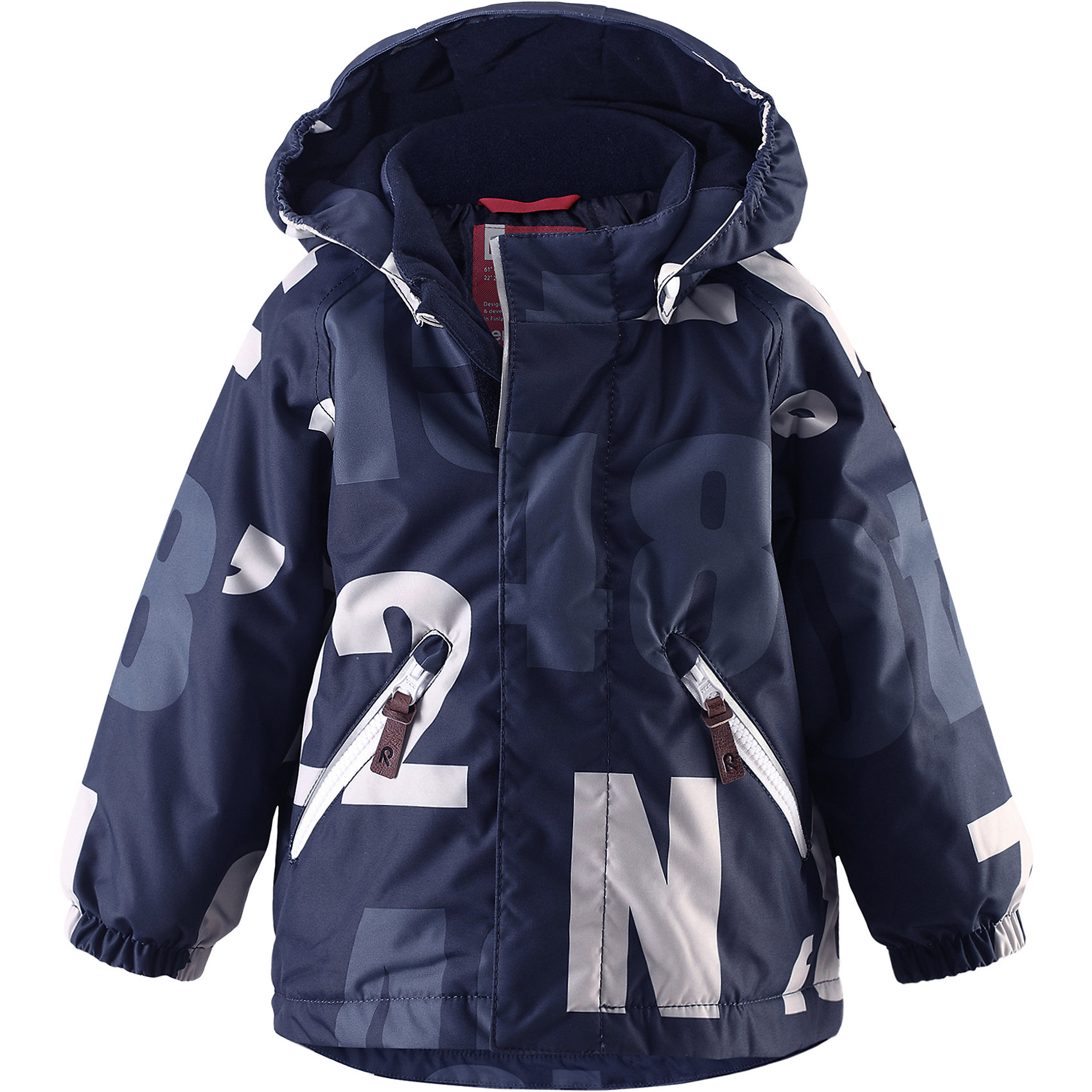 Куртка Nappaa ReimaЗимняя куртка для малышей. Основные швы проклеены и не пропускают влагу. Водо- и ветронепроницаемый, «дышащий» и грязеотталкивающий материал .Гладкая подкладка из полиэстра. Безопасный, съемный капюшон. Эластичные манжеты. Два кармана на молнии .Безопасные светоотражающие детали.<br>Состав:<br>100% ПЭ, ПУ-покрытие<br><br>Ширина мм: 356<br>Глубина мм: 10<br>Высота мм: 245<br>Вес г: 519<br>Цвет: синий<br>Возраст от месяцев: 12<br>Возраст до месяцев: 15<br>Пол: Унисекс<br>Возраст: Детский<br>Размер: 80,86<br>SKU: 5309397