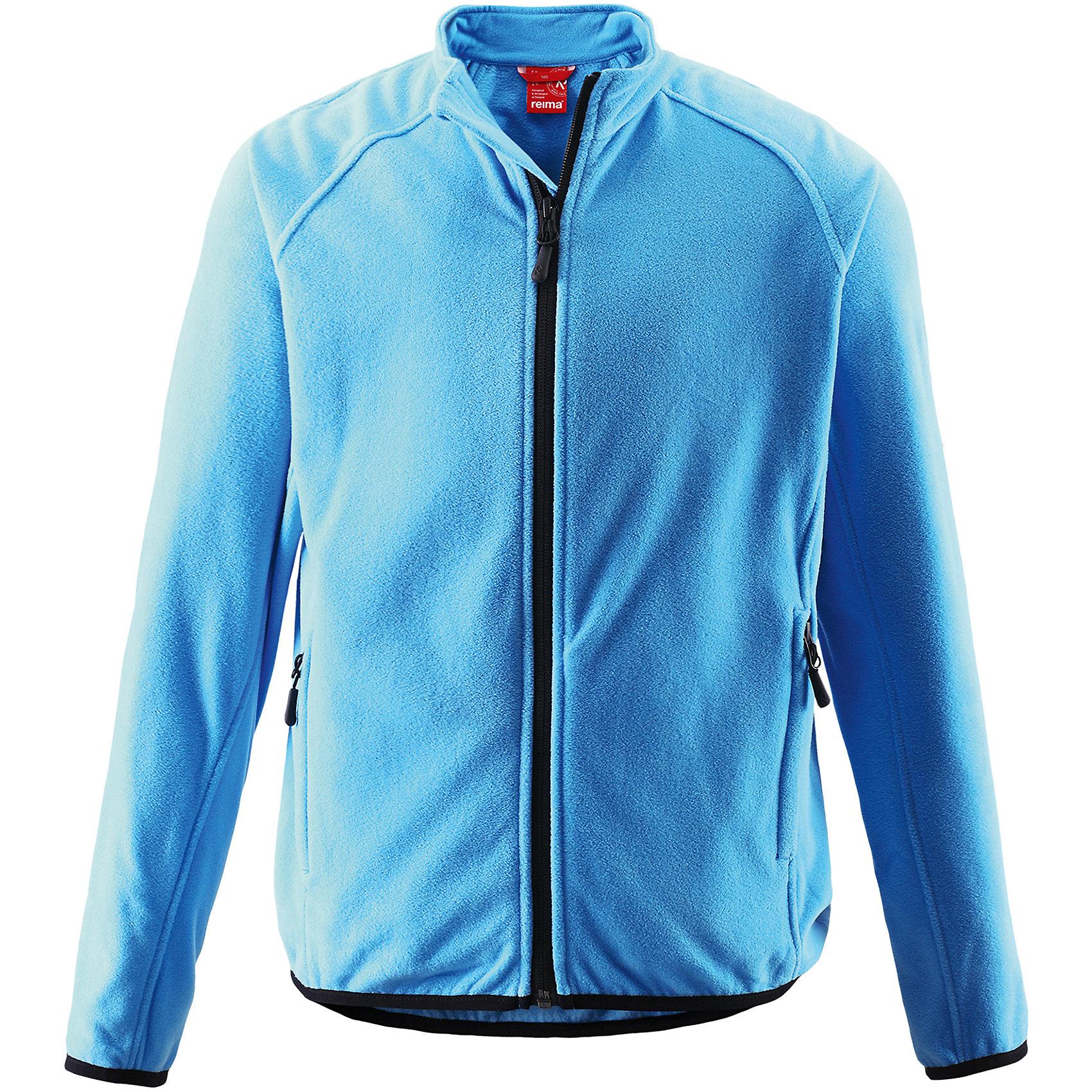 Куртка Riddle ReimaФлисовая куртка для подростков. Выводит влагу наружу и быстро сохнет. Теплый, легкий и быстросохнущий поларфлис. Эластичные манжеты. Удлиненный подол сзади для дополнительной защиты. Молния по всей длине с защитой подбородка. Два кармана на молнии. Аппликация .<br>Состав:<br>100% ПЭ<br><br>Ширина мм: 356<br>Глубина мм: 10<br>Высота мм: 245<br>Вес г: 519<br>Цвет: синий<br>Возраст от месяцев: 60<br>Возраст до месяцев: 72<br>Пол: Унисекс<br>Возраст: Детский<br>Размер: 128,122,116,158<br>SKU: 5309402