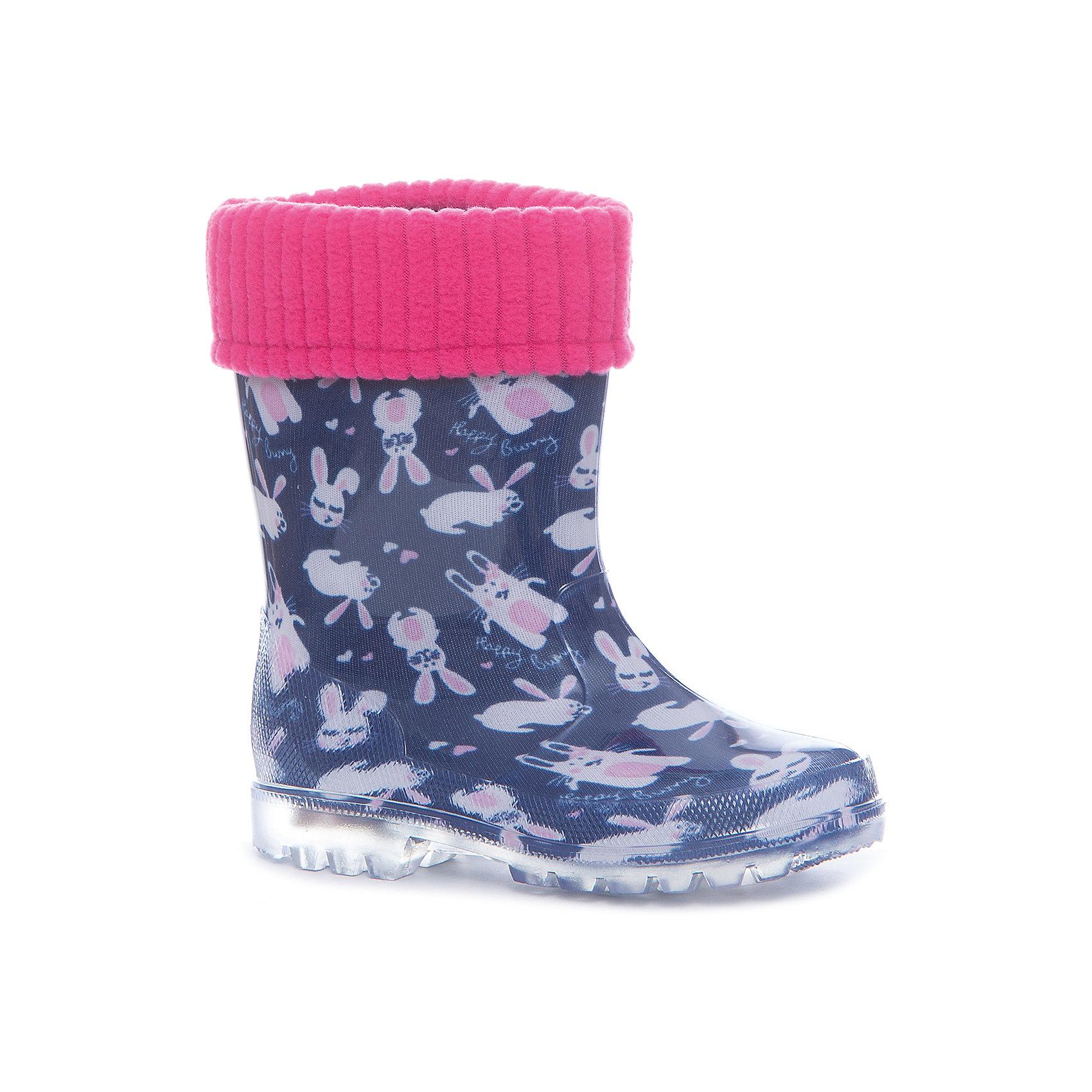 Резиновые сапоги  для девочки KAPIKAРезиновые сапоги<br>Характеристики товара:<br><br>• цвет: тёмно-синий<br>• внешний материал: ПВХ<br>• внутренний материал: утеплённый текстиль<br>• стелька: утеплённый текстиль<br>• подошва: ПВХ<br>• температурный режим: от +5°до +20°С<br>• резиновые сапоги со светодиодами в подошве<br>• съёмный внутренний сапожок<br>• сапоги можно носить как с вложенным сапожком, так и без него<br>• небольшой каблук<br>• не скользят<br>• рельефная подошва<br>• устойчивая подошва<br>• страна бренда: Российская Федерация<br>• страна изготовитель: Китай<br><br>Когда на улице сыро, резиновые сапоги - необходимый атрибут для ребенка. Эта модель отличается удобной формой, вынимающейся подкладкой и устойчивой нескользящей подошвой - так ноги точно останутся в сухости и тепле.<br><br>Резиновые сапоги от российского бренда Kapika (Капика) можно купить в нашем интернет-магазине.<br><br>Ширина мм: 237<br>Глубина мм: 180<br>Высота мм: 152<br>Вес г: 438<br>Цвет: синий<br>Возраст от месяцев: 72<br>Возраст до месяцев: 84<br>Пол: Женский<br>Возраст: Детский<br>Размер: 30,25,26,27,28,29<br>SKU: 5324303