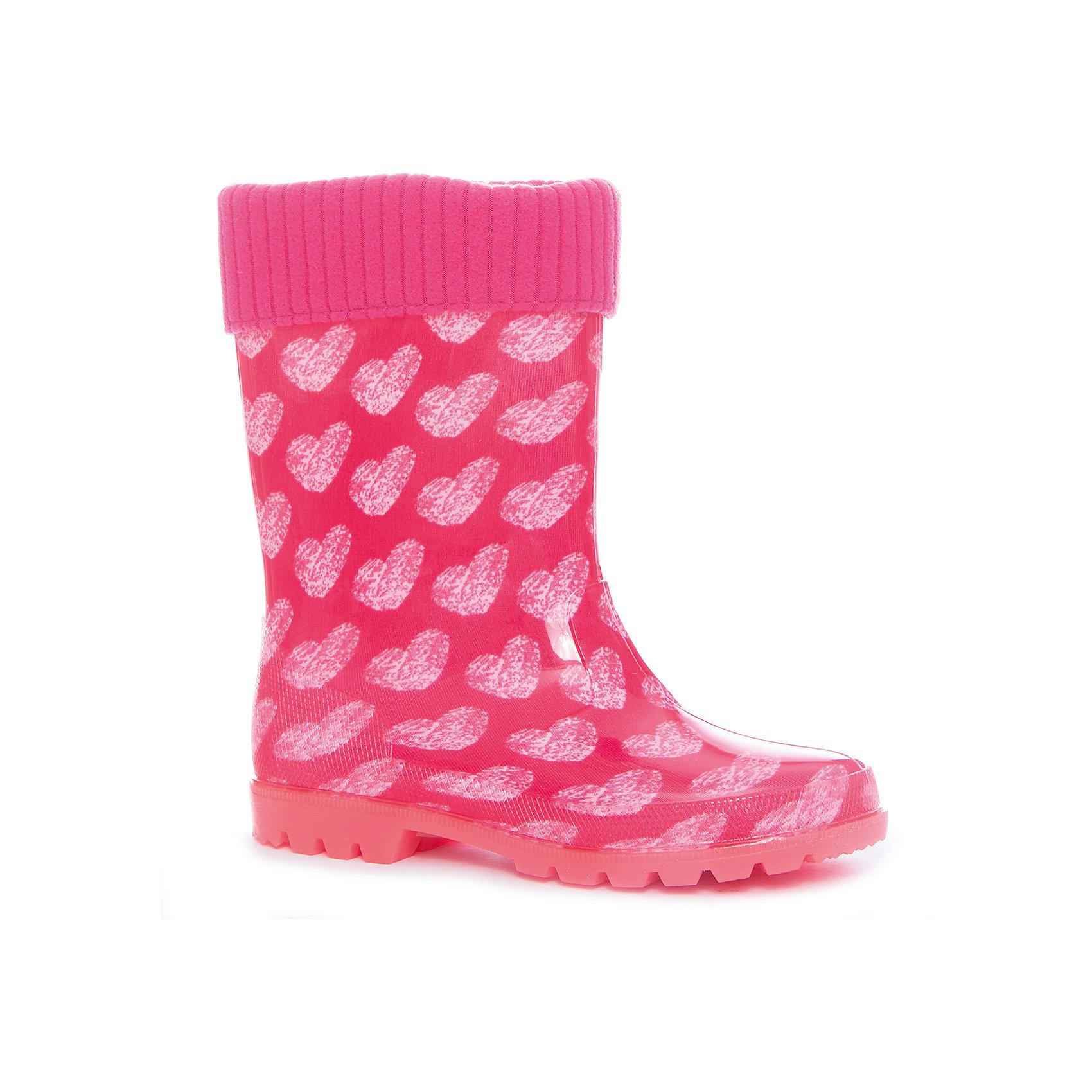 Резиновые сапоги  для девочки KAPIKAРезиновые сапоги<br>Характеристики товара:<br><br>• цвет: розовый<br>• внешний материал: ПВХ<br>• внутренний материал: утеплённый текстиль<br>• стелька: утеплённый текстиль<br>• подошва: ПВХ<br>• температурный режим: от +5°до +20°С<br>• резиновые сапоги со светодиодами в подошве<br>• съёмный внутренний сапожок<br>• сапоги можно носить как с вложенным сапожком, так и без него<br>• небольшой каблук<br>• не скользят<br>• рельефная подошва<br>• устойчивая подошва<br>• страна бренда: Российская Федерация<br>• страна изготовитель: Китай<br><br>Когда на улице сыро, резиновые сапоги - необходимый атрибут для ребенка. Эта модель отличается удобной формой, вынимающейся подкладкой и устойчивой нескользящей подошвой - так ноги точно останутся в сухости и тепле.<br><br>Резиновые сапоги от российского бренда Kapika (Капика) можно купить в нашем интернет-магазине.<br><br>Ширина мм: 237<br>Глубина мм: 180<br>Высота мм: 152<br>Вес г: 438<br>Цвет: розовый<br>Возраст от месяцев: 84<br>Возраст до месяцев: 96<br>Пол: Женский<br>Возраст: Детский<br>Размер: 31,35,32,33,34<br>SKU: 5324347