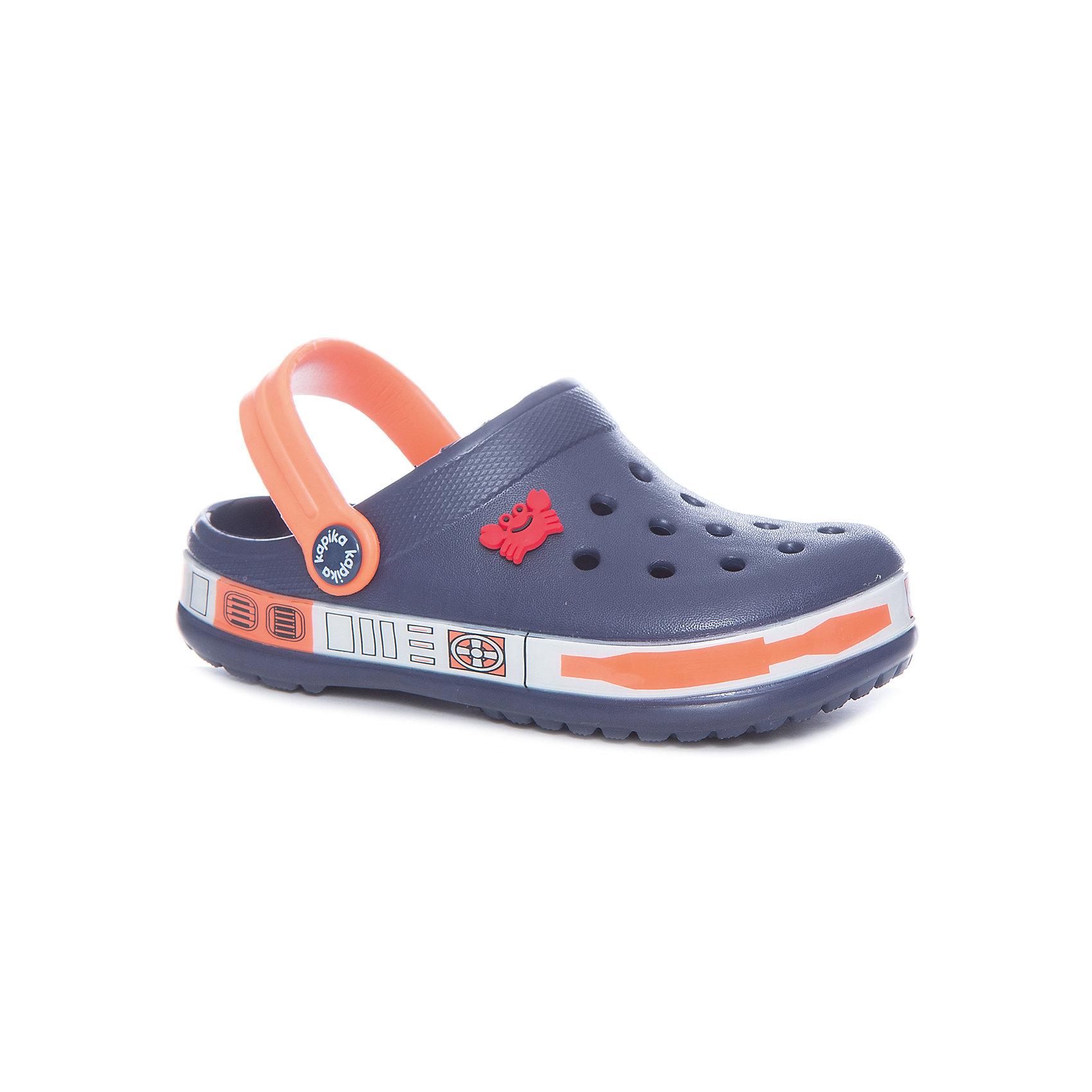 Сабо для мальчика KAPIKAПляжная обувь<br>Туфли для мальчика KAPIKA<br>Состав:<br>материал верха - ЭВА, подкладка - ЭВА, подошва - ЭВА<br><br>Ширина мм: 227<br>Глубина мм: 145<br>Высота мм: 124<br>Вес г: 325<br>Цвет: разноцветный<br>Возраст от месяцев: 24<br>Возраст до месяцев: 36<br>Пол: Мужской<br>Возраст: Детский<br>Размер: 26,30,25,27,28,29<br>SKU: 5324360