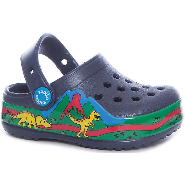 Сабо для мальчика KAPIKAПляжная обувь<br>Характеристики товара:<br><br>• пляжная обувь<br>• внешний материал обуви: ЭВА<br>• внутренний материал: ЭВА<br>• подошва:ЭВА<br>• сезон: лето<br>• страна бренда: Россия<br>• страна изготовитель: Китай<br><br>Сабо пляжные Kapika (Капика) можно купить в нашем интернет-магазине.<br><br>Ширина мм: 227<br>Глубина мм: 145<br>Высота мм: 124<br>Вес г: 325<br>Цвет: белый<br>Возраст от месяцев: 72<br>Возраст до месяцев: 84<br>Пол: Мужской<br>Возраст: Детский<br>Размер: 30,25,26,27,28,29<br>SKU: 5324381