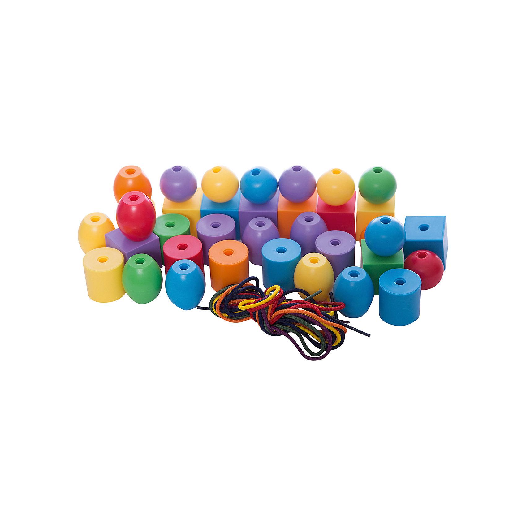 Набор Шнуровка - Большие бусыКонструктор Gigo Lacing jumbo beads (Гиго. Шнуровка-Большие бусы) - это 36 бусин, разных по форме и цвету, а также 6 шнурков для нанизывания бусин. Бусы хорошо подходят для развития концентрации внимания, фантазии, моторики рук, для формирования представления о внешних свойствах предметов: форме, объёме, цвете, величине и положении в пространстве.<br><br>Ширина мм: 150<br>Глубина мм: 150<br>Высота мм: 150<br>Вес г: 700<br>Возраст от месяцев: 36<br>Возраст до месяцев: 192<br>Пол: Унисекс<br>Возраст: Детский<br>SKU: 5324984