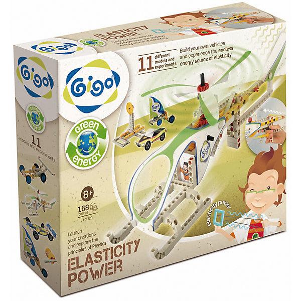 Набор Сила упругостиХимия и физика<br>Конструктор Gigo Elasticiti power (Гиго. Сила упругости) - увлекательный набор, раскрывающий секреты силы упругости, демонстрирующий на практике действие одного из основных физических законов Гука. Ребёнок сможет самостоятельно сконструировать 11 действующих моделей. В набор входит 170 деталей для создания моделей и инструкция, содержащая теоретическое обоснование проделываемых действий и пошаговое их описание.<br>Ширина мм: 290; Глубина мм: 80; Высота мм: 370; Вес г: 1272; Возраст от месяцев: 36; Возраст до месяцев: 192; Пол: Унисекс; Возраст: Детский; SKU: 5324989;