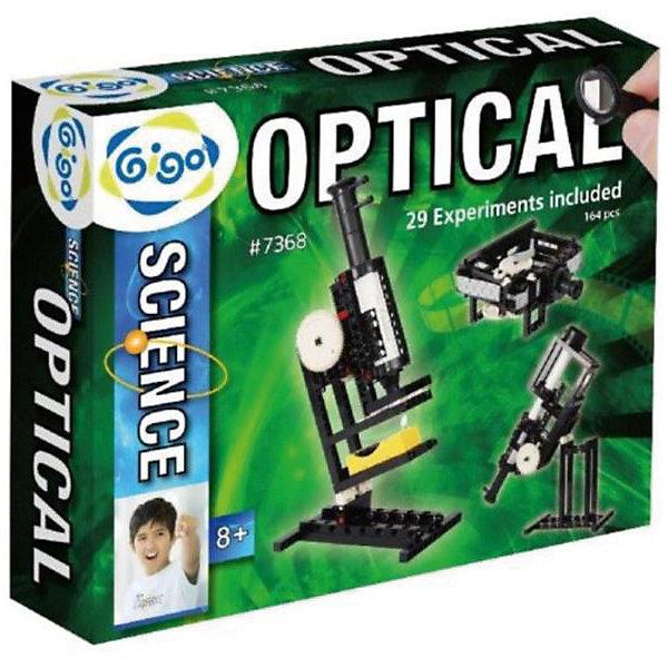 Набор Оптические экспериментыМикроскопы<br>Конструктор Gigo 5 in 1 optical experiment package (Гиго. Оптические эксперименты). С помощью этого конструктора Ваш ребенок сможет выполнить эксперименты, описанные в инструкции, получить знания и практический опыт, познакомиться с принципами работы оптических устройств. Поняв принцип работы линз, он сможет собрать подзорную трубу, телескоп, бинокль, микроскоп, кинопроектор. Используя собранные оптические приборы, можно исследовать часть окружающего нас мира, которая недоступна невооруженному глазу или создать свой первый в жизни фильм.<br><br>Ширина мм: 290<br>Глубина мм: 80<br>Высота мм: 370<br>Вес г: 1457<br>Возраст от месяцев: 36<br>Возраст до месяцев: 192<br>Пол: Унисекс<br>Возраст: Детский<br>SKU: 5324990