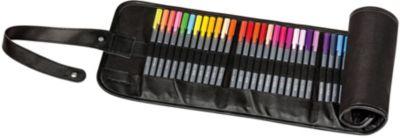 Набор капиллярных ручек Triplus, 48 цветов, в сумке-пенале, Staedtler, артикул:5325151 - Канцтовары
