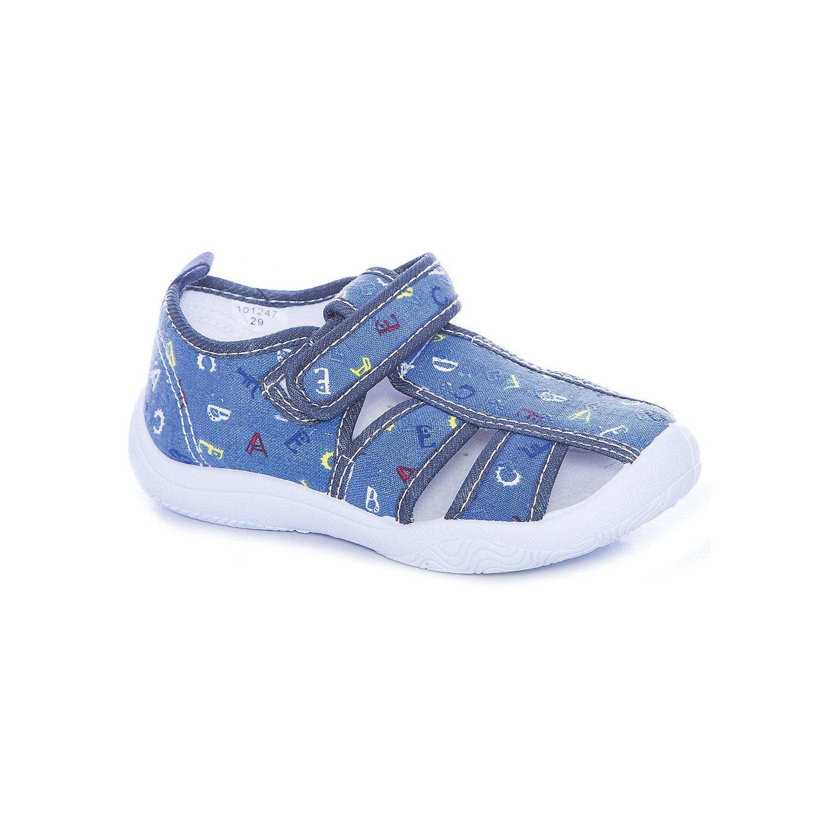 Сандалии для мальчика MURSUОбувь<br>Текстильная обувь для мальчика MURSU<br>Состав: <br>Материал верха: хлопок; Материал подкладки: хлопок; Материал подошвы: ПВХ; Материал стельки: натуральная кожа.<br><br>Ширина мм: 227<br>Глубина мм: 145<br>Высота мм: 124<br>Вес г: 325<br>Цвет: синий<br>Возраст от месяцев: 84<br>Возраст до месяцев: 96<br>Пол: Мужской<br>Возраст: Детский<br>Размер: 31,32,27,28,29,30<br>SKU: 5325800