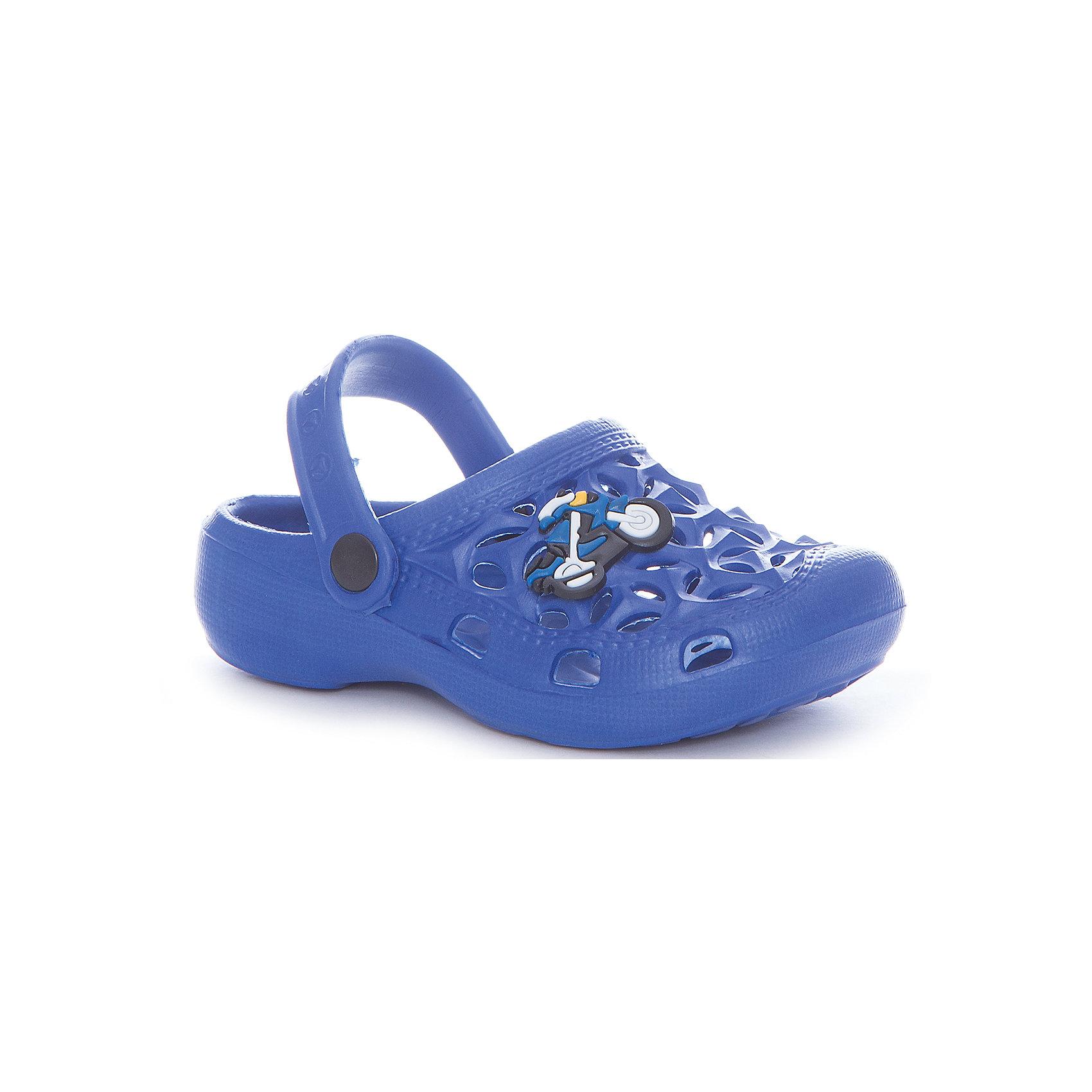 Сабо пляжные для мальчика MURSUПляжная обувь<br>Характеристики товара:<br><br>• цвет: синий<br>• внешний материал: ЭВА<br>• внутренний материал: ЭВА<br>• стелька: ЭВА<br>• подошва: ЭВА<br>• облегчённая модель<br>• подходит для пляжа <br>• удобная фиксация пятки<br>• отверстия для вентиляции<br>• устойчивая подошва<br>• страна бренда: Финляндия<br>• страна изгтовитель: Китай<br><br>Детям для правильного развития стопы и всего организма необходима качественная обувь. Эта удобная пляжная обувь поможет создать ногам ребенка комфортные условия, благодаря продуманной конструкции она отлично сидит на ноге. Это отличный вариант правильной и красивой детской обуви!<br><br>Туфли от финского бренда MURSU (МУРСУ) можно купить в нашем интернет-магазине.<br><br>Ширина мм: 248<br>Глубина мм: 135<br>Высота мм: 147<br>Вес г: 256<br>Цвет: синий<br>Возраст от месяцев: 24<br>Возраст до месяцев: 24<br>Пол: Мужской<br>Возраст: Детский<br>Размер: 25,28,29,26,27,24<br>SKU: 5326093