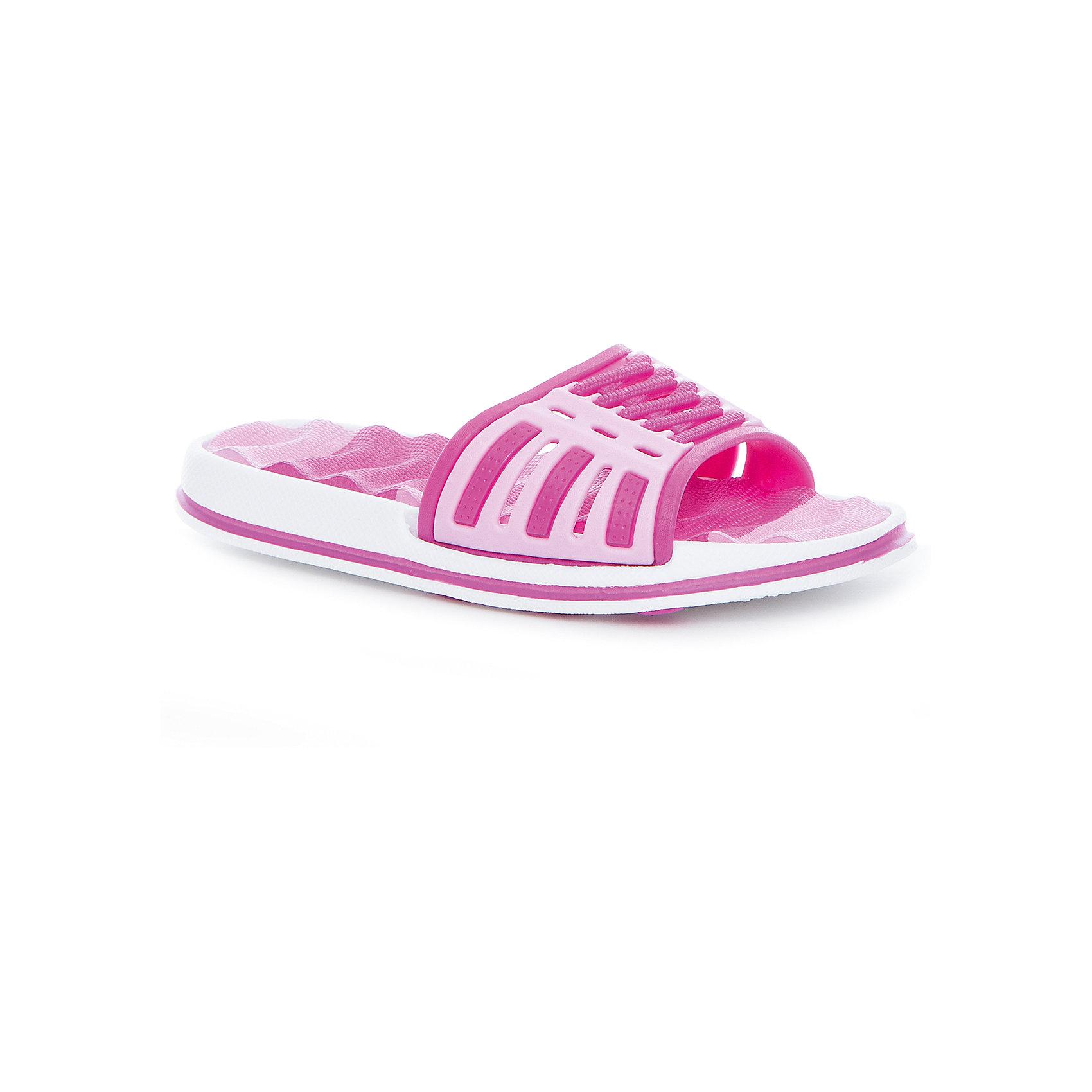 Шлепанцы для девочки MURSUОбувь<br>Характеристики товара:<br><br>• цвет: розовый<br>• внешний материал: ПВХ<br>• внутренний материал: ПВХ<br>• стелька: ЭВА<br>• подошва: ЭВА<br>• облегчённая модель<br>• подходит для пляжа <br>• подходит для занятий в бассейне<br>• отверстия для вентиляции<br>• устойчивая подошва<br>• страна бренда: Финляндия<br>• страна изготовитель: Китай<br><br>Детям для правильного развития стопы и всего организма необходима качественная обувь. Эта удобная пляжная обувь поможет создать ногам ребенка комфортные условия, благодаря продуманной конструкции она отлично сидит на ноге. Это отличный вариант правильной и красивой детской обуви!<br><br>Шлёпанцы от финского бренда MURSU (МУРСУ) можно купить в нашем интернет-магазине.<br><br>Ширина мм: 248<br>Глубина мм: 135<br>Высота мм: 147<br>Вес г: 256<br>Цвет: розовый<br>Возраст от месяцев: 132<br>Возраст до месяцев: 144<br>Пол: Женский<br>Возраст: Детский<br>Размер: 35,30,31,32,33,34<br>SKU: 5326142