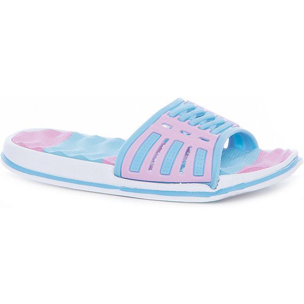 Шлепанцы для девочки MURSUПляжная обувь<br>Характеристики товара:<br><br>• цвет: голубой/розовый<br>• внешний материал: ПВХ<br>• внутренний материал: ПВХ<br>• стелька: ЭВА<br>• подошва: ЭВА<br>• облегчённая модель<br>• подходит для пляжа <br>• подходит для занятий в бассейне<br>• отверстия для вентиляции<br>• устойчивая подошва<br>• страна бренда: Финляндия<br>• страна изготовитель: Китай<br><br>Детям для правильного развития стопы и всего организма необходима качественная обувь. Эта удобная пляжная обувь поможет создать ногам ребенка комфортные условия, благодаря продуманной конструкции она отлично сидит на ноге. Это отличный вариант правильной и красивой детской обуви!<br><br>Шлёпанцы от финского бренда MURSU (МУРСУ) можно купить в нашем интернет-магазине.<br>Ширина мм: 248; Глубина мм: 135; Высота мм: 147; Вес г: 256; Цвет: pink/blau; Возраст от месяцев: 72; Возраст до месяцев: 84; Пол: Женский; Возраст: Детский; Размер: 30,35,34,33,32,31; SKU: 5326149;