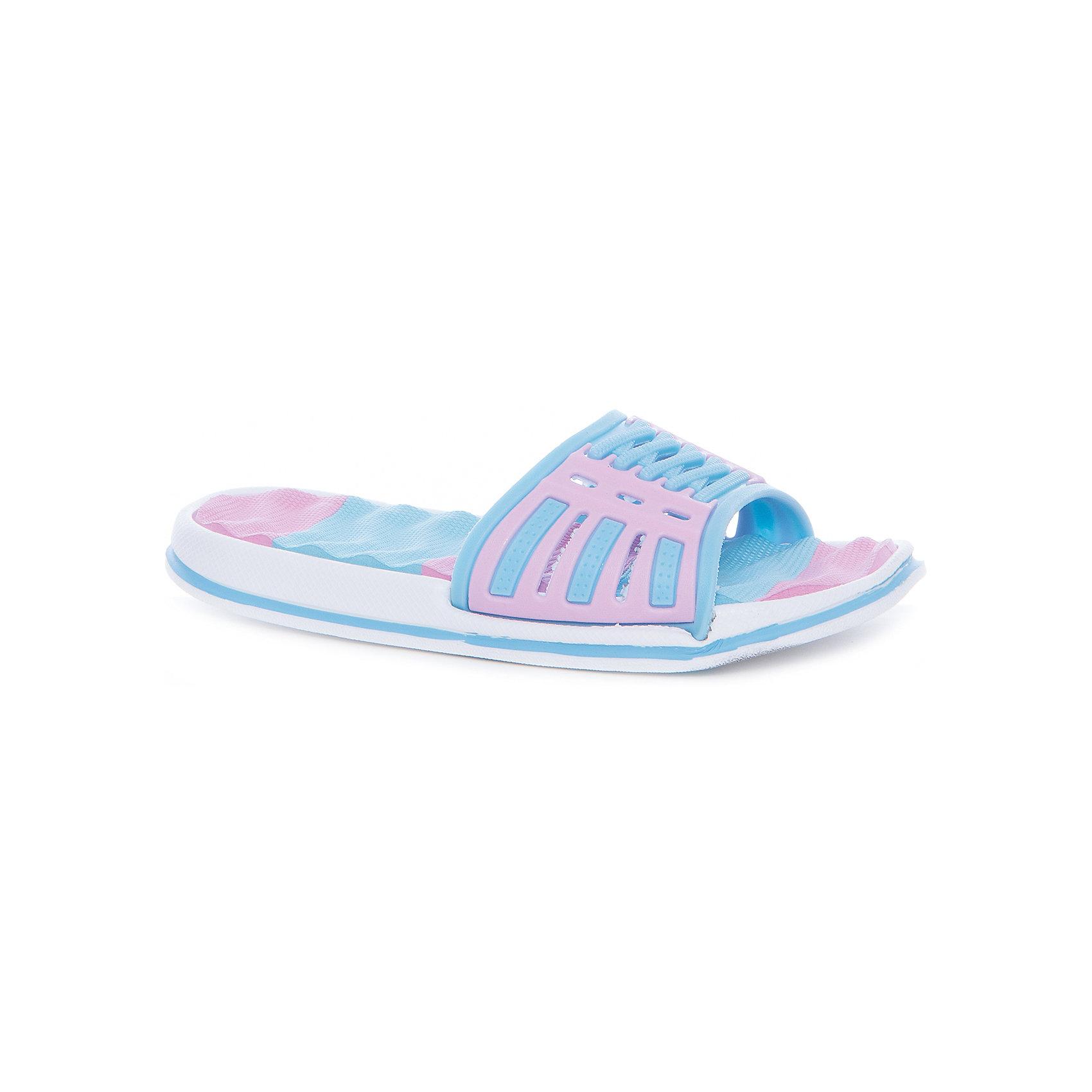 Шлепанцы для девочки MURSUПляжная обувь<br>Характеристики товара:<br><br>• цвет: голубой/розовый<br>• внешний материал: ПВХ<br>• внутренний материал: ПВХ<br>• стелька: ЭВА<br>• подошва: ЭВА<br>• облегчённая модель<br>• подходит для пляжа <br>• подходит для занятий в бассейне<br>• отверстия для вентиляции<br>• устойчивая подошва<br>• страна бренда: Финляндия<br>• страна изготовитель: Китай<br><br>Детям для правильного развития стопы и всего организма необходима качественная обувь. Эта удобная пляжная обувь поможет создать ногам ребенка комфортные условия, благодаря продуманной конструкции она отлично сидит на ноге. Это отличный вариант правильной и красивой детской обуви!<br><br>Шлёпанцы от финского бренда MURSU (МУРСУ) можно купить в нашем интернет-магазине.<br><br>Ширина мм: 248<br>Глубина мм: 135<br>Высота мм: 147<br>Вес г: 256<br>Цвет: розовый/голубой<br>Возраст от месяцев: 84<br>Возраст до месяцев: 96<br>Пол: Женский<br>Возраст: Детский<br>Размер: 31,32,33,34,35,30<br>SKU: 5326149