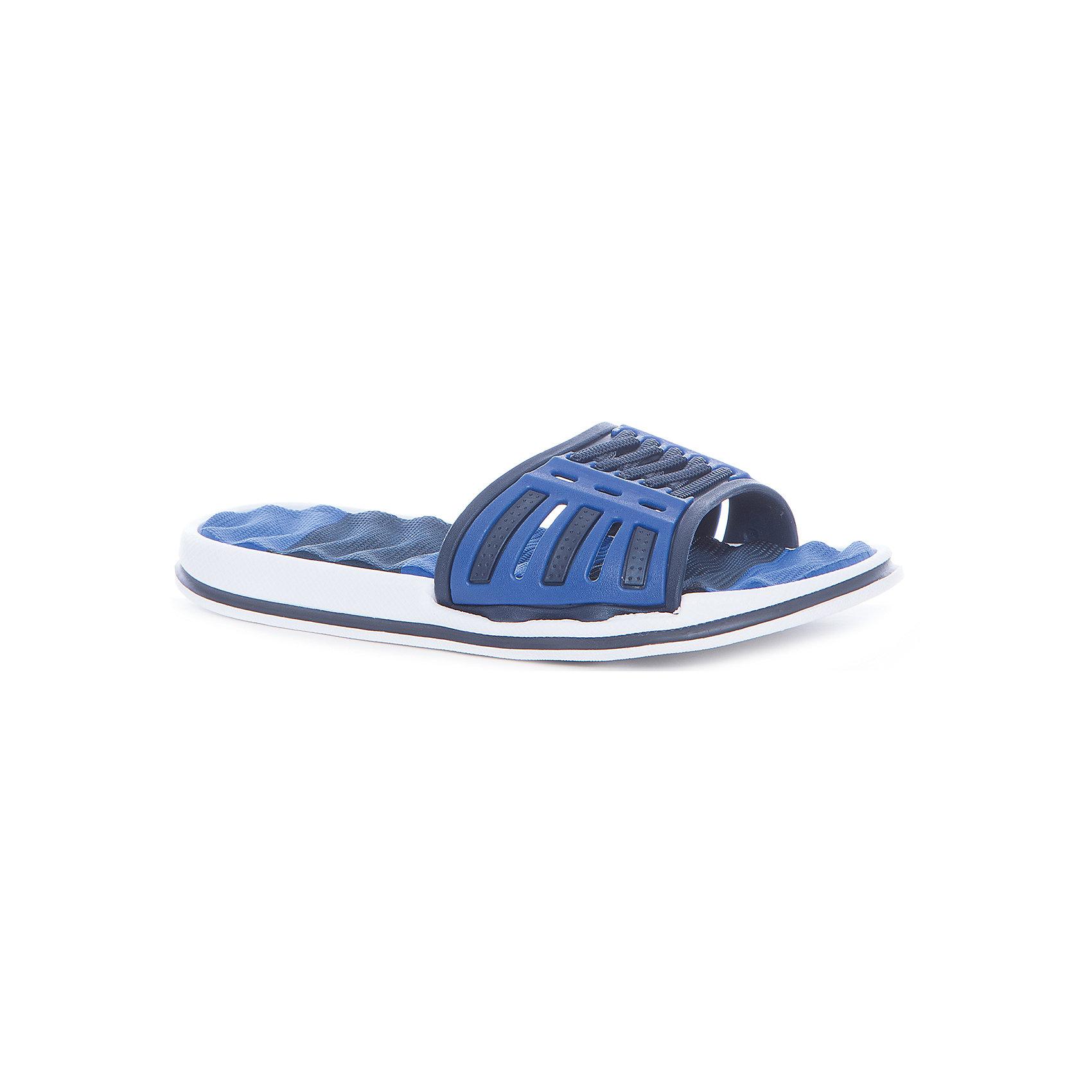 Шлепанцы для мальчика MURSUОбувь<br>Характеристики товара:<br><br>• цвет: синий<br>• внешний материал: ПВХ<br>• внутренний материал: ПВХ<br>• стелька: ЭВА<br>• подошва: ЭВА<br>• облегчённая модель<br>• подходит для пляжа <br>• подходит для занятий в бассейне<br>• отверстия для вентиляции<br>• устойчивая подошва<br>• страна бренда: Финляндия<br>• страна изготовитель: Китай<br><br>Детям для правильного развития стопы и всего организма необходима качественная обувь. Эта удобная пляжная обувь поможет создать ногам ребенка комфортные условия, благодаря продуманной конструкции она отлично сидит на ноге. Это отличный вариант правильной и красивой детской обуви!<br><br>Шлёпанцы от финского бренда MURSU (МУРСУ) можно купить в нашем интернет-магазине.<br><br>Ширина мм: 248<br>Глубина мм: 135<br>Высота мм: 147<br>Вес г: 256<br>Цвет: синий<br>Возраст от месяцев: 132<br>Возраст до месяцев: 144<br>Пол: Мужской<br>Возраст: Детский<br>Размер: 35,30,31,32,33,34<br>SKU: 5326163
