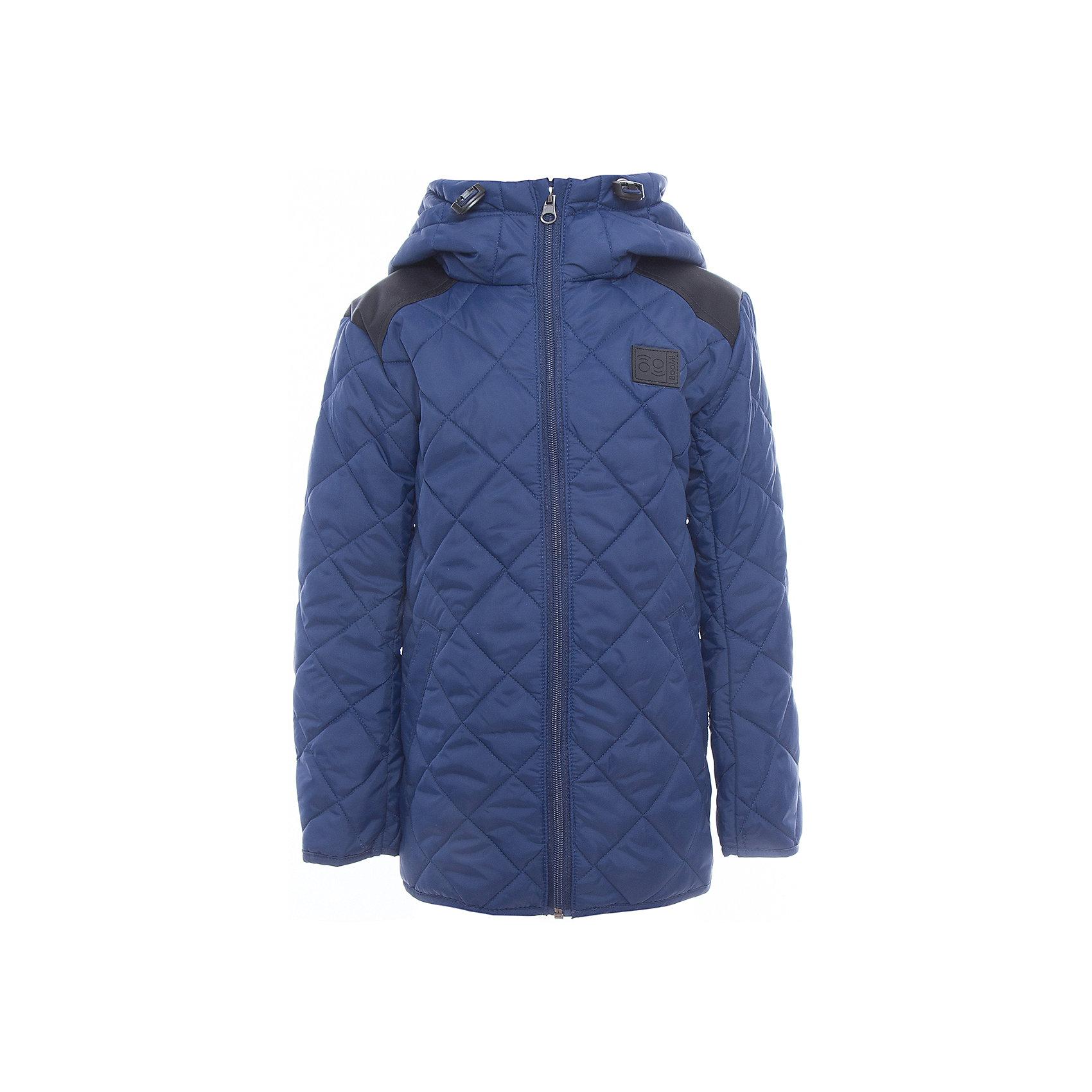 Куртка для мальчика BOOM by OrbyХарактеристики товара:<br><br>• цвет: синий<br>• состав: верх - таффета, таслан, подкладка - полиэстер, утеплитель: эко-синтепон 150 г/м2<br>• карманы<br>• температурный режим: от -5 С° до +10 С° <br>• капюшон<br>• застежка - молния<br>• стеганая<br>• декорирована логотипом<br>• комфортная посадка<br>• страна производства: Российская Федерация<br>• страна бренда: Российская Федерация<br>• коллекция: весна-лето 2017<br><br>Такая куртка - отличный вариант для походов в школу в межсезонье с его постоянно меняющейся погодой. Эта модель - модная и удобная одновременно! Изделие отличается стильным элегантным дизайном. Куртка хорошо сидит по фигуре, отлично сочетается с различным низом. Вещь была разработана специально для детей.<br><br>Куртку для мальчика от бренда BOOM by Orby можно купить в нашем интернет-магазине.<br><br>Ширина мм: 356<br>Глубина мм: 10<br>Высота мм: 245<br>Вес г: 519<br>Цвет: синий<br>Возраст от месяцев: 144<br>Возраст до месяцев: 156<br>Пол: Мужской<br>Возраст: Детский<br>Размер: 158,116,122,128,134,140,146,152<br>SKU: 5342721