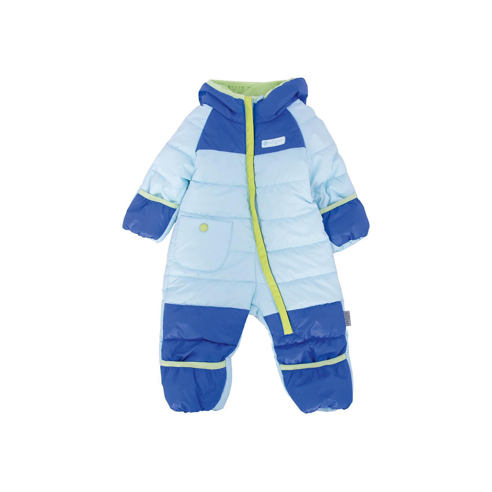 Комбинезон детский BOOM by OrbyВерхняя одежда<br>Характеристики товара:<br><br>• цвет: голубой/синий<br>• состав: верх - болонь, подкладка - поликоттон, утеплитель: эко-синтепон 150 г/м2<br>• температурный режим: от -5 С° до +10 С° <br>• капюшон не отстёгивается<br>• застежка - молния<br>• планка от ветра<br>• отвороты варежки и пинетки для защиты от продуваний<br>• декорирован логотипом<br>• комфортная посадка<br>• страна производства: Российская Федерация<br>• страна бренда: Российская Федерация<br>• коллекция: весна-лето 2017<br><br>Одежда для самых маленьких должна быть особо комфортной! Такой комбинезон - отличный вариант для межсезонья с постоянно меняющейся погодой. Эта модель - модная и удобная одновременно! Изделие отличается стильным ярким дизайном. Комбинезон дополнен мягкой подкладкой. Вещь была разработана специально для малышей.<br><br>Одежда от российского бренда BOOM by Orby уже завоевала популярностью у многих детей и их родителей. Вещи, выпускаемые компанией, качественные, продуманные и очень удобные. Для производства коллекций используются только безопасные для детей материалы. Спешите приобрести модели из новой коллекции Весна-лето 2017! <br><br>Комбинезон детский от бренда BOOM by Orby можно купить в нашем интернет-магазине.<br><br>Ширина мм: 356<br>Глубина мм: 10<br>Высота мм: 245<br>Вес г: 519<br>Цвет: голубой<br>Возраст от месяцев: 3<br>Возраст до месяцев: 6<br>Пол: Унисекс<br>Возраст: Детский<br>Размер: 68,80,74<br>SKU: 5342765