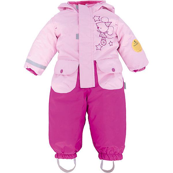 Комбинезон для девочки BOOM by OrbyВерхняя одежда<br>Характеристики товара:<br><br>• цвет: розовый/фуксия<br>• состав: верх - нейлон с мембранным покрытием 3000*3000, подкладка - поларфлис, поликоттон, утеплитель: FiberSoft 100 г/м2<br>• температурный режим: от -5°до +10°С<br>• ветронепроницаемый<br>• капюшон не отстёгивается<br>• застежка - молния<br>• планка от ветра<br>• водо- и грязеотталкивающее покрытие<br>• карманы<br>• штрипки<br>• декорирован принтом<br>• мембранное дышащее покрытие<br>• комфортная посадка<br>• страна производства: Российская Федерация<br>• страна бренда: Российская Федерация<br>• коллекция: весна-лето 2017<br><br>Одежда для самых маленьких должна быть особо комфортной! Такой комбинезон - отличный вариант для межсезонья с постоянно меняющейся погодой. Эта модель - модная и удобная одновременно! Изделие отличается стильным ярким дизайном. Комбинезон дополнен мягкой подкладкой. Вещь была разработана специально для малышей.<br><br>Одежда от российского бренда BOOM by Orby уже завоевала популярностью у многих детей и их родителей. Вещи, выпускаемые компанией, качественные, продуманные и очень удобные. Для производства коллекций используются только безопасные для детей материалы. Спешите приобрести модели из новой коллекции Весна-лето 2017! <br><br>Комбинезон для девочки от бренда BOOM by Orby можно купить в нашем интернет-магазине.<br>Ширина мм: 356; Глубина мм: 10; Высота мм: 245; Вес г: 519; Цвет: розовый; Возраст от месяцев: 6; Возраст до месяцев: 9; Пол: Женский; Возраст: Детский; Размер: 74,98,92,86,80; SKU: 5342769;
