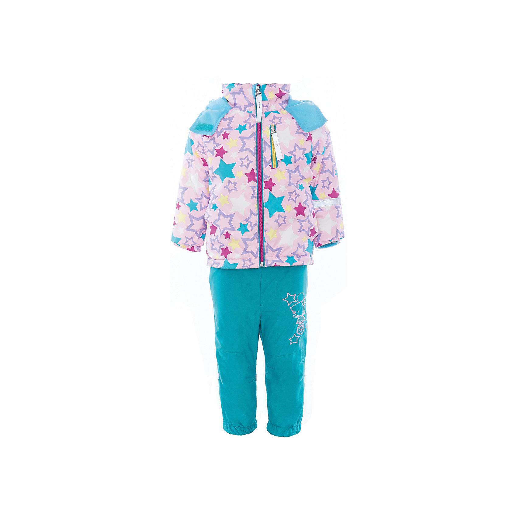 Комплект для девочки BOOM by OrbyВерхняя одежда<br>Характеристики товара:<br><br>• цвет: розовый/бирюзовый<br>• состав: <br>курточка: верх - нейлон с мембранным покрытием 3000*3000, подкладка - поларфлис, полиэстер, утеплитель: FiberSoft 100 г/м2<br>брюки: верх - нейлон с мембранным покрытием 3000*3000, подкладка - поларфлис<br>• комплектация: куртка, брюки<br>• температурный режим: от -5 С° до +10 С° <br>• эластичные регулируемые подтяжки<br>• застежка - молния<br>• куртка декорирована принтом<br>• капюшон<br>• силиконовые штрипки<br>• комфортная посадка<br>• страна производства: Российская Федерация<br>• страна бренда: Российская Федерация<br>• коллекция: весна-лето 2017<br><br>Такой комплект - универсальный вариант для межсезонья с постоянно меняющейся погодой. Эта модель - модная и удобная одновременно! Изделие отличается стильным ярким дизайном. Куртка и брюки хорошо сидят по фигуре, отлично сочетается с различной обувью. Модель была разработана специально для детей.<br><br>Одежда от российского бренда BOOM by Orby уже завоевала популярностью у многих детей и их родителей. Вещи, выпускаемые компанией, качественные, продуманные и очень удобные. Для производства коллекций используются только безопасные для детей материалы. Спешите приобрести модели из новой коллекции Весна-лето 2017! <br><br>Комплект для девочки от бренда BOOM by Orby можно купить в нашем интернет-магазине.<br><br>Ширина мм: 356<br>Глубина мм: 10<br>Высота мм: 245<br>Вес г: 519<br>Цвет: голубой<br>Возраст от месяцев: 36<br>Возраст до месяцев: 48<br>Пол: Женский<br>Возраст: Детский<br>Размер: 104,92,98,110,116,122,80,86<br>SKU: 5342796