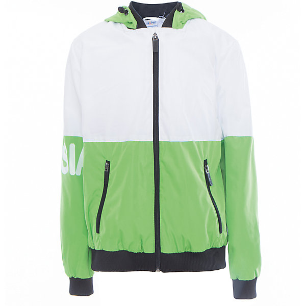 Куртка для мальчика BOOM by OrbyВерхняя одежда<br>Характеристики товара:<br><br>• цвет: зелёный<br>• состав: верх - Pronto pu, подкладка - полиэстер, флис, без утеплителя<br>• температурный режим: от +5°до +15°С<br>• демисезон<br>• капюшон<br>• застежка - молния<br>• эластичные манжеты<br>• принт<br>• карманы<br>• комфортная посадка<br>• страна производства: Российская Федерация<br>• страна бренда: Российская Федерация<br>• коллекция: весна-лето 2017<br><br>Такая куртка - универсальный вариант для теплого межсезонья с постоянно меняющейся погодой. Эта модель - модная и удобная одновременно! Изделие отличается стильным ярким дизайном. Куртка хорошо сидит по фигуре, отлично сочетается с различным низом. Вещь была разработана специально для детей.<br><br>Куртку для мальчика для девочки от бренда BOOM by Orby можно купить в нашем интернет-магазине.<br><br>Ширина мм: 356<br>Глубина мм: 10<br>Высота мм: 245<br>Вес г: 519<br>Цвет: зеленый<br>Возраст от месяцев: 36<br>Возраст до месяцев: 48<br>Пол: Мужской<br>Возраст: Детский<br>Размер: 104,158,152,146,140,134,128,122,116,98,110<br>SKU: 5342898