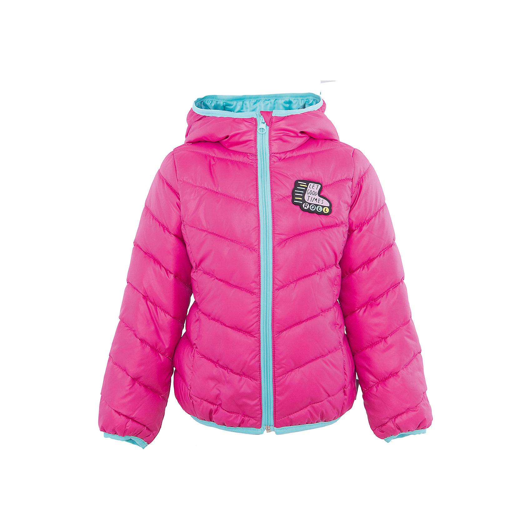 Куртка для девочки BOOM by OrbyВерхняя одежда<br>Характеристики товара:<br><br>• цвет: розовый<br>• состав: 100% полиэстер<br>• верхняя ткань: Таффета oil cire PU<br>• подкладка: ПЭ пуходержащий<br>• наполнитель: Эко-синтепон 150 г/м2<br>• температурный режим: от +10°до 0°С<br>• прочный материал<br>• капюшон (не отстегивается)<br>• застежка - молния<br>• демисезонная<br>• стеганая<br>• декорирована нашивкой<br>• комфортная посадка<br>• страна производства: Российская Федерация<br>• страна бренда: Российская Федерация<br>• коллекция: весна-лето 2017<br><br>Одежда для детей должна быть особо комфортной! Такая курточка - отличный вариант для межсезонья с постоянно меняющейся погодой. Эта модель - модная и удобная одновременно! Изделие отличается стильным ярким дизайном. Куртка дополнена мягкой подкладкой. Вещь была разработана специально для детей.<br><br>Одежда от российского бренда BOOM by Orby уже завоевала популярностью у многих детей и их родителей. Вещи, выпускаемые компанией, качественные, продуманные и очень удобные. Для производства коллекций используются только безопасные для детей материалы. Спешите приобрести модели из новой коллекции Весна-лето 2017! <br><br>Куртку для девочки от бренда BOOM by Orby можно купить в нашем интернет-магазине.<br><br>Ширина мм: 356<br>Глубина мм: 10<br>Высота мм: 245<br>Вес г: 519<br>Цвет: розовый<br>Возраст от месяцев: 36<br>Возраст до месяцев: 48<br>Пол: Женский<br>Возраст: Детский<br>Размер: 104,158,110,98,116,122,128,134,140,146,152<br>SKU: 5342953