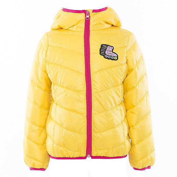 Куртка для девочки BOOM by OrbyВерхняя одежда<br>Характеристики товара:<br><br>• цвет: желтый<br>• состав: 100% полиэстер<br>• верхняя ткань: Таффета oil cire PU<br>• подкладка: ПЭ пуходержащий<br>• наполнитель: Эко-синтепон 150 г/м2<br>• температурный режим: от +10°до 0°С<br>• прочный материал<br>• капюшон (не отстегивается)<br>• застежка - молния<br>• демисезонная<br>• стеганая<br>• декорирована нашивкой<br>• комфортная посадка<br>• страна производства: Российская Федерация<br>• страна бренда: Российская Федерация<br>• коллекция: весна-лето 2017<br><br>Одежда для детей должна быть особо комфортной! Такая курточка - отличный вариант для межсезонья с постоянно меняющейся погодой. Эта модель - модная и удобная одновременно! Изделие отличается стильным ярким дизайном. Куртка дополнена мягкой подкладкой. Вещь была разработана специально для детей.<br><br>Одежда от российского бренда BOOM by Orby уже завоевала популярностью у многих детей и их родителей. Вещи, выпускаемые компанией, качественные, продуманные и очень удобные. Для производства коллекций используются только безопасные для детей материалы. Спешите приобрести модели из новой коллекции Весна-лето 2017! <br><br>Куртку для девочки от бренда BOOM by Orby можно купить в нашем интернет-магазине.<br><br>Ширина мм: 356<br>Глубина мм: 10<br>Высота мм: 245<br>Вес г: 519<br>Цвет: желтый<br>Возраст от месяцев: 84<br>Возраст до месяцев: 96<br>Пол: Женский<br>Возраст: Детский<br>Размер: 128,158,104,110,98,134,116,122,140,146,152<br>SKU: 5342977
