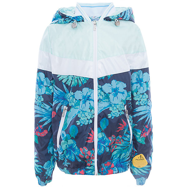 Куртка для девочки BOOM by OrbyВерхняя одежда<br>Характеристики товара:<br><br>• цвет: голубой принт<br>• состав: верх - таффета, подкладка - поликоттон, полиэстер, без утеплителя<br>• температурный режим: от 0 до +15°С<br>• карманы<br>• застежка - молния<br>• капюшон с утяжкой<br>• украшена принтом<br>• эластичные манжеты<br>• комфортная посадка<br>• страна производства: Российская Федерация<br>• страна бренда: Российская Федерация<br>• коллекция: весна-лето 2017<br><br>Легкая куртка - универсальный вариант и для прохладного летнего вечера, и для теплого межсезонья. Эта модель - модная и удобная одновременно! Изделие отличается стильным ярким дизайном. Куртка хорошо сидит по фигуре, отлично сочетается с различным низом. Вещь была разработана специально для детей.<br><br>Куртку для девочки от бренда BOOM by Orby можно купить в нашем интернет-магазине.<br><br>Ширина мм: 356<br>Глубина мм: 10<br>Высота мм: 245<br>Вес г: 519<br>Цвет: синий<br>Возраст от месяцев: 48<br>Возраст до месяцев: 60<br>Пол: Женский<br>Возраст: Детский<br>Размер: 110,158,152,146,140,134,128,122,116<br>SKU: 5343077