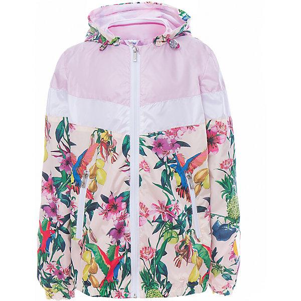 Куртка для девочки BOOM by OrbyВерхняя одежда<br>Характеристики товара:<br><br>• цвет: розовый принт<br>• состав: верх - таффета, подкладка - поликоттон, полиэстер, без утеплителя<br>• температурный режим: от 0 до +15°С<br>• карманы<br>• застежка - молния<br>• капюшон с утяжкой<br>• украшена принтом<br>• эластичные манжеты<br>• комфортная посадка<br>• страна производства: Российская Федерация<br>• страна бренда: Российская Федерация<br>• коллекция: весна-лето 2017<br><br>Легкая куртка - универсальный вариант и для прохладного летнего вечера, и для теплого межсезонья. Эта модель - модная и удобная одновременно! Изделие отличается стильным ярким дизайном. Куртка хорошо сидит по фигуре, отлично сочетается с различным низом. Вещь была разработана специально для детей.<br><br>Куртку для девочки от бренда BOOM by Orby можно купить в нашем интернет-магазине.<br>Ширина мм: 356; Глубина мм: 10; Высота мм: 245; Вес г: 519; Цвет: белый; Возраст от месяцев: 144; Возраст до месяцев: 156; Пол: Женский; Возраст: Детский; Размер: 158,104,152,146,140,134,128,122,116,110,98,92,86; SKU: 5343087;