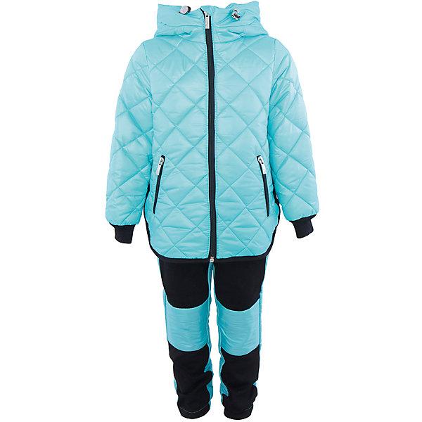 Комплект для девочки BOOM by OrbyВерхняя одежда<br>Характеристики товара:<br><br>• цвет: голубой/черный<br>• состав: 100% полиэстер<br>• курточка: верх - таффета, подкладка - поликоттон, полиэстер, утеплитель: Flexy Fiber 150 г/м2<br>• брюки: верх - костюмный трикотаж с начесом, подкладка - флис<br>• комплектация: куртка, брюки<br>• температурный режим: от -5 С° до +10 С° <br>• капюшон (не отстегивается)<br>• карманы на молнии<br>• застежка - молния<br>• убирающаяся корона на капюшоне<br>• накладки на коленях<br>• куртка декорирована вышивкой<br>• эластичные манжеты<br>• комфортная посадка<br>• страна производства: Российская Федерация<br>• страна бренда: Российская Федерация<br>• коллекция: весна-лето 2017<br><br>Такой комплект - универсальный вариант для межсезонья с постоянно меняющейся погодой. Эта модель - модная и удобная одновременно! Изделие отличается стильным ярким дизайном. Куртка и брюки хорошо сидят по фигуре, отлично сочетается с различной обувью. Модель была разработана специально для детей.<br><br>Одежда от российского бренда BOOM by Orby уже завоевала популярностью у многих детей и их родителей. Вещи, выпускаемые компанией, качественные, продуманные и очень удобные. Для производства коллекций используются только безопасные для детей материалы. Спешите приобрести модели из новой коллекции Весна-лето 2017! <br><br>Комплект для девочки от бренда BOOM by Orby можно купить в нашем интернет-магазине.<br><br>Ширина мм: 356<br>Глубина мм: 10<br>Высота мм: 245<br>Вес г: 519<br>Цвет: голубой<br>Возраст от месяцев: 12<br>Возраст до месяцев: 18<br>Пол: Женский<br>Возраст: Детский<br>Размер: 86,104,122,116,110,98,92<br>SKU: 5343165