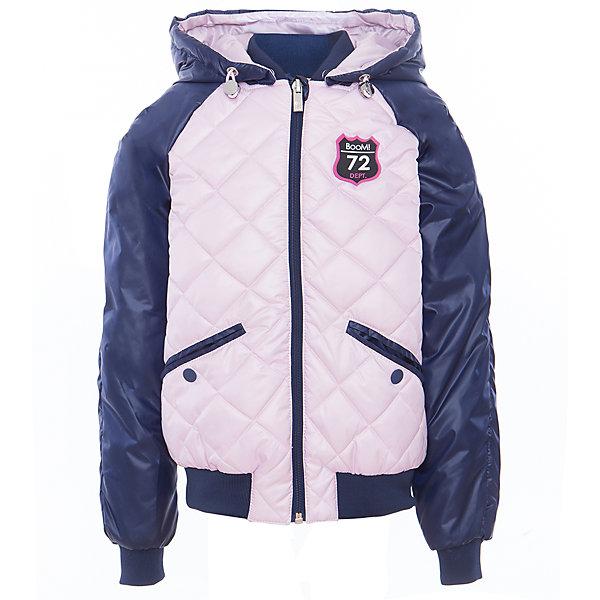 Куртка для девочки BOOM by OrbyВерхняя одежда<br>Характеристики товара:<br><br>• цвет: розовый/синий<br>• ткань верха: Таффета oil cire PU стеганная; Таффета oil cire PU<br>• подкладка: Поликоттон, ПЭ пуходержащий; Отделка: Вязаное полотно.<br>• наполнитель: Flexy Fiber - это искусственный аналог лебяжьего пуха<br>• температурный режим: от 0 С° до +10 С° <br>• капюшон (отстегивающийся)<br>• карманы на кнопке<br>• застежка - молния<br>• эластичные манжеты<br>• стеганая<br>• декорирована нашивками<br>• комфортная посадка<br>• страна производства: Российская Федерация<br>• страна бренда: Российская Федерация<br>• коллекция: весна-лето 2017<br><br>Куртка-бомбер - универсальный вариант для межсезонья с постоянно меняющейся погодой. Эта модель - модная и удобная одновременно! Изделие отличается стильным ярким дизайном. Куртка хорошо сидит по фигуре, отлично сочетается с различным низом. Вещь была разработана специально для детей.<br><br>Одежда от российского бренда BOOM by Orby уже завоевала популярностью у многих детей и их родителей. Вещи, выпускаемые компанией, качественные, продуманные и очень удобные. Для производства коллекций используются только безопасные для детей материалы. Спешите приобрести модели из новой коллекции Весна-лето 2017! <br><br>Куртку для девочки от бренда BOOM by Orby можно купить в нашем интернет-магазине.<br>Ширина мм: 356; Глубина мм: 10; Высота мм: 245; Вес г: 519; Цвет: синий; Возраст от месяцев: 84; Возраст до месяцев: 96; Пол: Женский; Возраст: Детский; Размер: 128,170,164,122,158,116,110,152,98,92,146,86,104,140,134; SKU: 5343229;