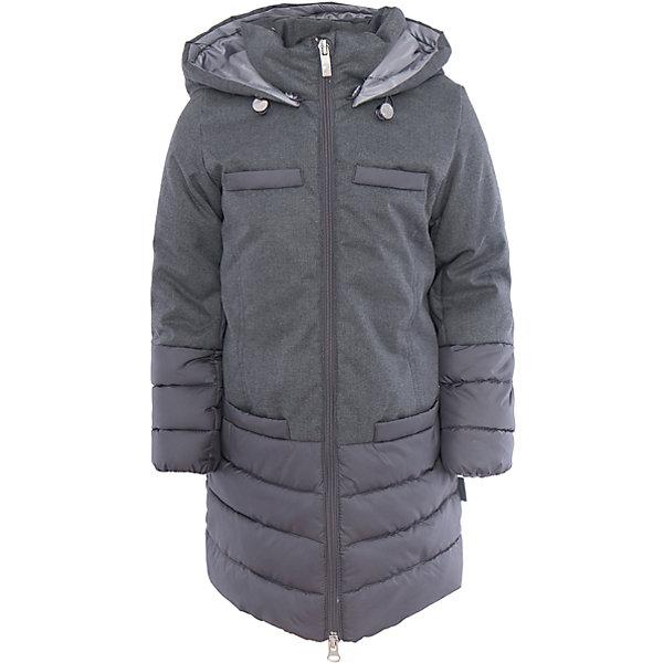 Пальто для девочки BOOM by OrbyВерхняя одежда<br>Характеристики товара:<br><br>• цвет: серый<br>• состав: 100% полиэстер; верх - таффета, ткань плащевая под костюмку , подкладка - полиэстер, утеплитель: Flexy Fiber 150 г/м2<br>• карманы<br>• температурный режим: от -5 С° до +10 С° <br>• капюшон (отстегивается)<br>• застежка - молния<br>• комбинированный материал<br>• длина до колен<br>• комфортная посадка<br>• страна производства: Российская Федерация<br>• страна бренда: Российская Федерация<br>• коллекция: весна-лето 2017<br><br>Такое пальто - отличный вариант для походов в школу в межсезонье с его постоянно меняющейся погодой. Эта модель - модная и удобная одновременно! Изделие отличается стильным элегантным дизайном. Пальто хорошо сидит по фигуре, отлично сочетается с различным низом. Вещь была разработана специально для детей.<br><br>Одежда от российского бренда BOOM by Orby уже завоевала популярностью у многих детей и их родителей. Вещи, выпускаемые компанией, качественные, продуманные и очень удобные. Для производства коллекций используются только безопасные для детей материалы. Спешите приобрести модели из новой коллекции Весна-лето 2017! <br><br>Пальто для девочки от бренда BOOM by Orby можно купить в нашем интернет-магазине.<br><br>Ширина мм: 356<br>Глубина мм: 10<br>Высота мм: 245<br>Вес г: 519<br>Цвет: белый<br>Возраст от месяцев: 144<br>Возраст до месяцев: 156<br>Пол: Женский<br>Возраст: Детский<br>Размер: 158,134,128,170,164,152,146,140<br>SKU: 5343254