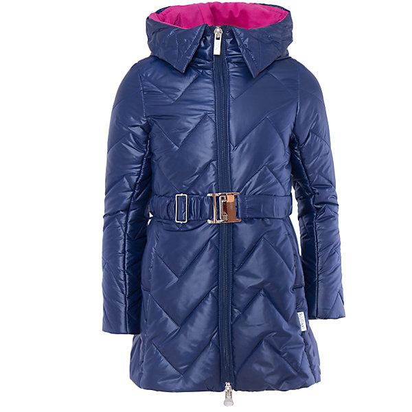 Пальто для девочки BOOM by OrbyВерхняя одежда<br>Характеристики товара:<br><br>• цвет: синий<br>• состав: 100% полиэстер; верх - таффета , подкладка - флис, поликоттон, полиэстер, утеплитель: Flexy Fiber 150 г/м2<br>• температурный режим: от -5 С° до +10 С° <br>• капюшон (не отстегивается)<br>• карманы<br>• пояс с пряжкой<br>• высокий воротник<br>• застежка - молния<br>• стеганое<br>• длина до колен<br>• комфортная посадка<br>• страна производства: Российская Федерация<br>• страна бренда: Российская Федерация<br>• коллекция: весна-лето 2017<br><br>Такое пальто - отличный вариант для походов в школу в межсезонье с его постоянно меняющейся погодой. Эта модель - модная и удобная одновременно! Изделие отличается стильным элегантным дизайном. Пальто хорошо сидит по фигуре, отлично сочетается с различным низом. Вещь была разработана специально для детей.<br>Одежда от российского бренда BOOM by Orby уже завоевала популярностью у многих детей и их родителей. Вещи, выпускаемые компанией, качественные, продуманные и очень удобные. Для производства коллекций используются только безопасные для детей материалы. Спешите приобрести модели из новой коллекции Весна-лето 2017! <br><br>Пальто для девочки от бренда BOOM by Orby можно купить в нашем интернет-магазине.<br>Ширина мм: 356; Глубина мм: 10; Высота мм: 245; Вес г: 519; Цвет: синий; Возраст от месяцев: 24; Возраст до месяцев: 36; Пол: Женский; Возраст: Детский; Размер: 98,158,152,146,140,134,128,122,116,110,104; SKU: 5343272;