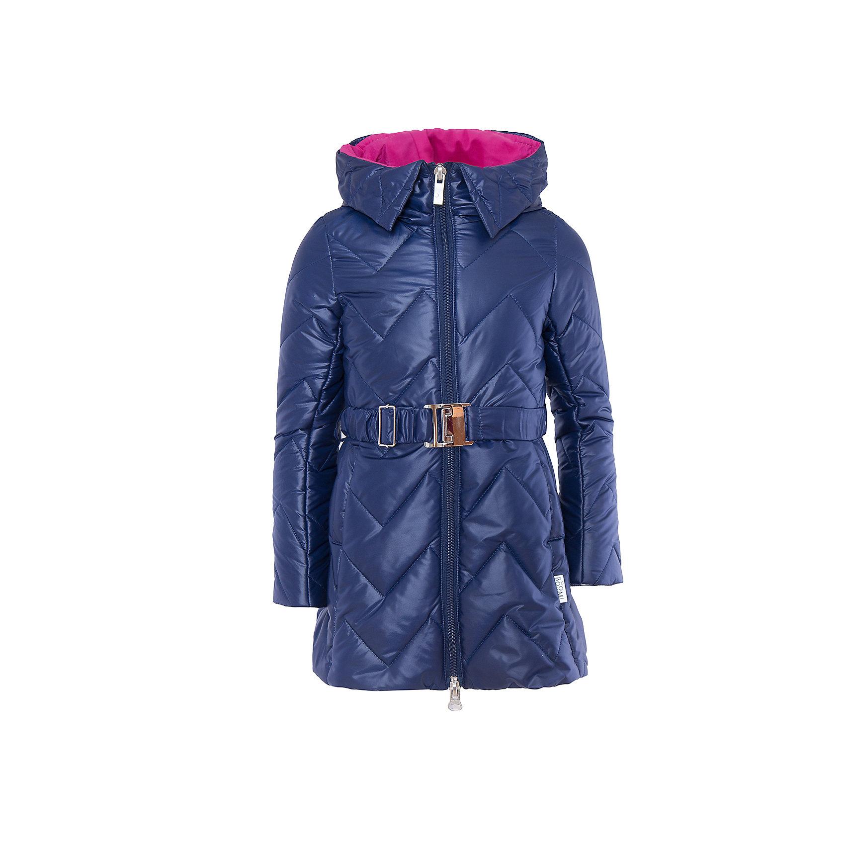 Пальто для девочки BOOM by OrbyВерхняя одежда<br>Характеристики товара:<br><br>• цвет: синий<br>• состав: 100% полиэстер; верх - таффета , подкладка - флис, поликоттон, полиэстер, утеплитель: Flexy Fiber 150 г/м2<br>• температурный режим: от -5 С° до +10 С° <br>• капюшон (не отстегивается)<br>• карманы<br>• пояс с пряжкой<br>• высокий воротник<br>• застежка - молния<br>• стеганое<br>• длина до колен<br>• комфортная посадка<br>• страна производства: Российская Федерация<br>• страна бренда: Российская Федерация<br>• коллекция: весна-лето 2017<br><br>Такое пальто - отличный вариант для походов в школу в межсезонье с его постоянно меняющейся погодой. Эта модель - модная и удобная одновременно! Изделие отличается стильным элегантным дизайном. Пальто хорошо сидит по фигуре, отлично сочетается с различным низом. Вещь была разработана специально для детей.<br>Одежда от российского бренда BOOM by Orby уже завоевала популярностью у многих детей и их родителей. Вещи, выпускаемые компанией, качественные, продуманные и очень удобные. Для производства коллекций используются только безопасные для детей материалы. Спешите приобрести модели из новой коллекции Весна-лето 2017! <br><br>Пальто для девочки от бренда BOOM by Orby можно купить в нашем интернет-магазине.<br><br>Ширина мм: 356<br>Глубина мм: 10<br>Высота мм: 245<br>Вес г: 519<br>Цвет: синий<br>Возраст от месяцев: 24<br>Возраст до месяцев: 36<br>Пол: Женский<br>Возраст: Детский<br>Размер: 98,104,110,116,122,128,134,140,146,152,158<br>SKU: 5343272