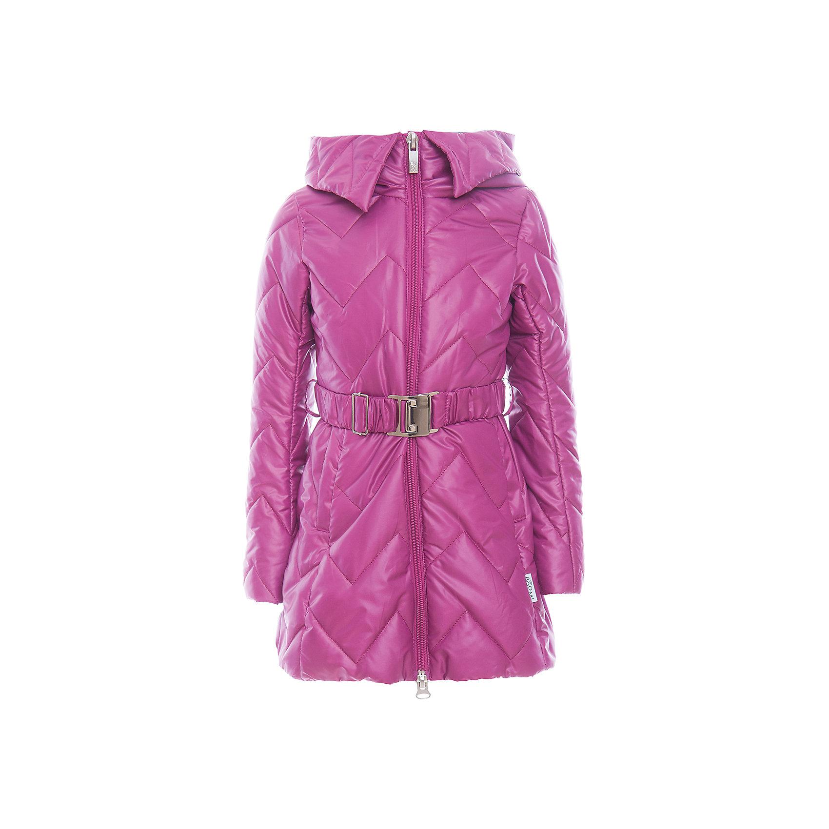 Пальто для девочки BOOM by OrbyВерхняя одежда<br>Характеристики товара:<br><br>• цвет: фиолетовый<br>• состав: 100% полиэстер; верх - таффета , подкладка - флис, поликоттон, полиэстер, утеплитель: Flexy Fiber 150 г/м2<br>• температурный режим: от -5 С° до +10 С° <br>• капюшон (не отстегивается)<br>• карманы<br>• пояс с пряжкой<br>• высокий воротник<br>• застежка - молния<br>• стеганое<br>• длина до колен<br>• комфортная посадка<br>• страна производства: Российская Федерация<br>• страна бренда: Российская Федерация<br>• коллекция: весна-лето 2017<br><br>Такое пальто - отличный вариант для походов в школу в межсезонье с его постоянно меняющейся погодой. Эта модель - модная и удобная одновременно! Изделие отличается стильным элегантным дизайном. Пальто хорошо сидит по фигуре, отлично сочетается с различным низом. Вещь была разработана специально для детей.<br>Одежда от российского бренда BOOM by Orby уже завоевала популярностью у многих детей и их родителей. Вещи, выпускаемые компанией, качественные, продуманные и очень удобные. Для производства коллекций используются только безопасные для детей материалы. Спешите приобрести модели из новой коллекции Весна-лето 2017! <br><br>Пальто для девочки от бренда BOOM by Orby можно купить в нашем интернет-магазине.<br><br>Ширина мм: 356<br>Глубина мм: 10<br>Высота мм: 245<br>Вес г: 519<br>Цвет: лиловый<br>Возраст от месяцев: 72<br>Возраст до месяцев: 84<br>Пол: Женский<br>Возраст: Детский<br>Размер: 122,134,128,116,158,98,110,104,152,146,140<br>SKU: 5343296