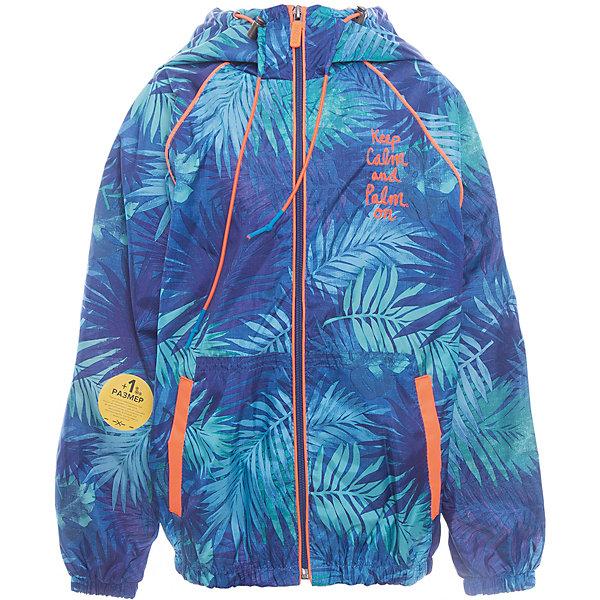 Куртка для мальчика BOOM by OrbyВерхняя одежда<br>Характеристики товара:<br><br>• цвет: синий<br>• состав: верх - таффета, подкладка - поликоттон, полиэстер, без утеплителя<br>• температурный режим: от +10° до +20°С<br>• карманы<br>• застежка - молния<br>• капюшон с утяжкой<br>• украшена принтом<br>• эластичные манжеты<br>• комфортная посадка<br>• страна производства: Российская Федерация<br>• страна бренда: Российская Федерация<br>• коллекция: весна-лето 2017<br><br>Легкая куртка - универсальный вариант и для прохладного летнего вечера, и для теплого межсезонья. Эта модель - модная и удобная одновременно! Изделие отличается стильным ярким дизайном. Куртка хорошо сидит по фигуре, отлично сочетается с различным низом. Вещь была разработана специально для детей.<br><br>Куртку для мальчика от бренда BOOM by Orby можно купить в нашем интернет-магазине.<br>Ширина мм: 356; Глубина мм: 10; Высота мм: 245; Вес г: 519; Цвет: синий; Возраст от месяцев: 48; Возраст до месяцев: 60; Пол: Мужской; Возраст: Детский; Размер: 110,98,92,86,158,152,146,140,134,128,122,116; SKU: 5343318;