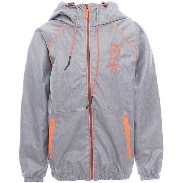 Куртка для мальчика BOOM by OrbyВерхняя одежда<br>Характеристики товара:<br><br>• цвет: серый<br>• состав: верх - таффета, подкладка - поликоттон, полиэстер, без утеплителя<br>• температурный режим: от +10° до +20°С<br>• карманы<br>• застежка - молния<br>• капюшон с утяжкой<br>• украшена принтом<br>• эластичные манжеты<br>• комфортная посадка<br>• страна производства: Российская Федерация<br>• страна бренда: Российская Федерация<br>• коллекция: весна-лето 2017<br><br>Легкая куртка - универсальный вариант и для прохладного летнего вечера, и для теплого межсезонья. Эта модель - модная и удобная одновременно! Изделие отличается стильным ярким дизайном. Куртка хорошо сидит по фигуре, отлично сочетается с различным низом. Вещь была разработана специально для детей.<br><br>Куртку для мальчика от бренда BOOM by Orby можно купить в нашем интернет-магазине.<br><br>Ширина мм: 356<br>Глубина мм: 10<br>Высота мм: 245<br>Вес г: 519<br>Цвет: серый<br>Возраст от месяцев: 36<br>Возраст до месяцев: 48<br>Пол: Мужской<br>Возраст: Детский<br>Размер: 104,158,152,146,140,134,128,122,116,110,98,92,86<br>SKU: 5343328