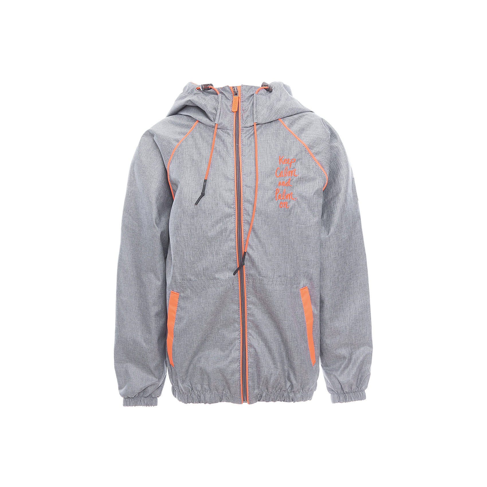 Куртка для мальчика BOOM by OrbyВерхняя одежда<br>Характеристики товара:<br><br>• цвет: серый<br>• состав: верх - таффета, подкладка - поликоттон, полиэстер, без утеплителя<br>• температурный режим: от +10° до +20°С<br>• карманы<br>• застежка - молния<br>• капюшон с утяжкой<br>• украшена принтом<br>• эластичные манжеты<br>• комфортная посадка<br>• страна производства: Российская Федерация<br>• страна бренда: Российская Федерация<br>• коллекция: весна-лето 2017<br><br>Легкая куртка - универсальный вариант и для прохладного летнего вечера, и для теплого межсезонья. Эта модель - модная и удобная одновременно! Изделие отличается стильным ярким дизайном. Куртка хорошо сидит по фигуре, отлично сочетается с различным низом. Вещь была разработана специально для детей.<br><br>Куртку для мальчика от бренда BOOM by Orby можно купить в нашем интернет-магазине.<br><br>Ширина мм: 356<br>Глубина мм: 10<br>Высота мм: 245<br>Вес г: 519<br>Цвет: серый<br>Возраст от месяцев: 36<br>Возраст до месяцев: 48<br>Пол: Мужской<br>Возраст: Детский<br>Размер: 104,158,122,128,86,134,92,140,98,110,116,146,152<br>SKU: 5343328