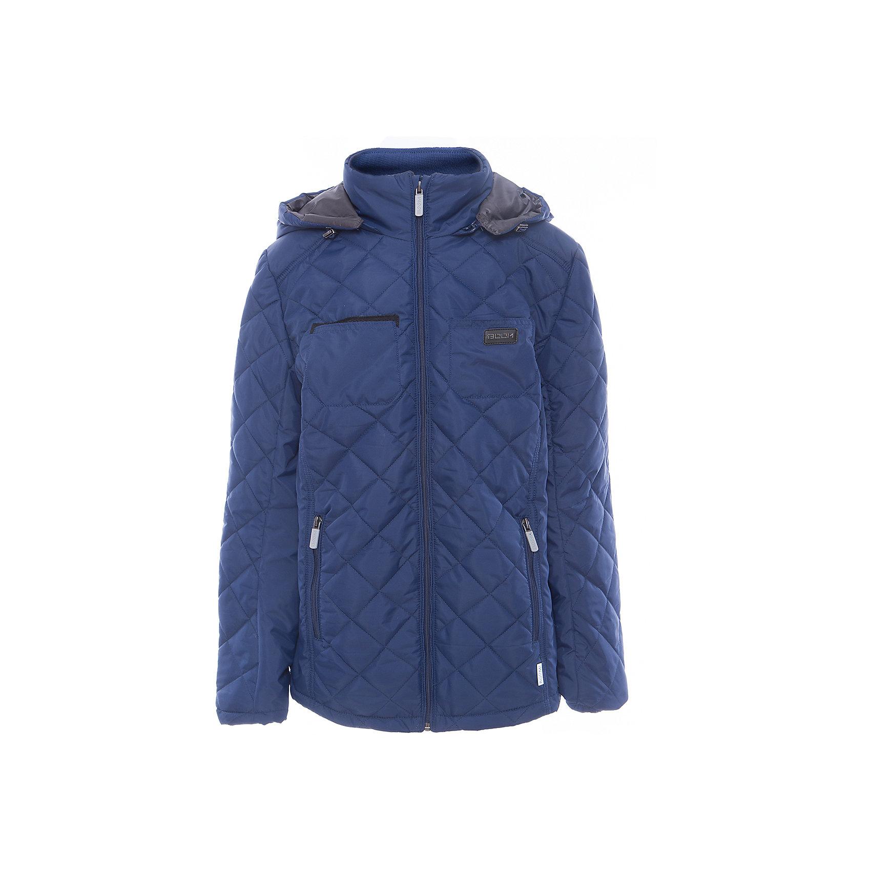 Куртка для мальчика BOOM by OrbyВерхняя одежда<br>Характеристики товара:<br><br>• цвет: синий<br>• состав: верх - таффета, подкладка - поликоттон, полиэстер, утеплитель: Flexy Fiber 150 г/м2<br>• карманы<br>• температурный режим: от -5 С° до +10 С° <br>• капюшон<br>• застежка - молния<br>• воротник-стойка<br>• комфортная посадка<br>• страна производства: Российская Федерация<br>• страна бренда: Российская Федерация<br>• коллекция: весна-лето 2017<br><br>Такая куртка- отличный вариант для походов в школу в межсезонье с его постоянно меняющейся погодой. Эта модель - модная и удобная одновременно! Изделие отличается стильным элегантным дизайном. Куртка хорошо сидит по фигуре, отлично сочетается с различным низом. Вещь была разработана специально для детей.<br><br>Одежда от российского бренда BOOM by Orby уже завоевала популярностью у многих детей и их родителей. Вещи, выпускаемые компанией, качественные, продуманные и очень удобные. Для производства коллекций используются только безопасные для детей материалы. Спешите приобрести модели из новой коллекции Весна-лето 2017! <br><br>Куртку для мальчика от бренда BOOM by Orby можно купить в нашем интернет-магазине.<br><br>Ширина мм: 356<br>Глубина мм: 10<br>Высота мм: 245<br>Вес г: 519<br>Цвет: синий<br>Возраст от месяцев: 168<br>Возраст до месяцев: 180<br>Пол: Мужской<br>Возраст: Детский<br>Размер: 170,164,116,122,128,134,140,146,158,152<br>SKU: 5343478