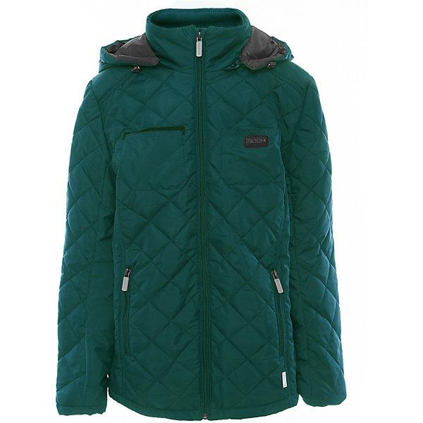 Куртка для мальчика BOOM by OrbyВерхняя одежда<br>Характеристики товара:<br><br>• цвет: зелёный<br>• состав: верх - таффета, подкладка - поликоттон, полиэстер, утеплитель: Flexy Fiber 150 г/м2<br>• карманы<br>• температурный режим: от -5 С° до +10 С° <br>• капюшон<br>• застежка - молния<br>• воротник-стойка<br>• комфортная посадка<br>• страна производства: Российская Федерация<br>• страна бренда: Российская Федерация<br>• коллекция: весна-лето 2017<br><br>Такая куртка- отличный вариант для походов в школу в межсезонье с его постоянно меняющейся погодой. Эта модель - модная и удобная одновременно! Изделие отличается стильным элегантным дизайном. Куртка хорошо сидит по фигуре, отлично сочетается с различным низом. Вещь была разработана специально для детей.<br><br>Одежда от российского бренда BOOM by Orby уже завоевала популярностью у многих детей и их родителей. Вещи, выпускаемые компанией, качественные, продуманные и очень удобные. Для производства коллекций используются только безопасные для детей материалы. Спешите приобрести модели из новой коллекции Весна-лето 2017! <br><br>Куртку для мальчика от бренда BOOM by Orby можно купить в нашем интернет-магазине.<br><br>Ширина мм: 356<br>Глубина мм: 10<br>Высота мм: 245<br>Вес г: 519<br>Цвет: зеленый<br>Возраст от месяцев: 60<br>Возраст до месяцев: 72<br>Пол: Мужской<br>Возраст: Детский<br>Размер: 116,170,164,158,152,146,140,134,128,122<br>SKU: 5343489