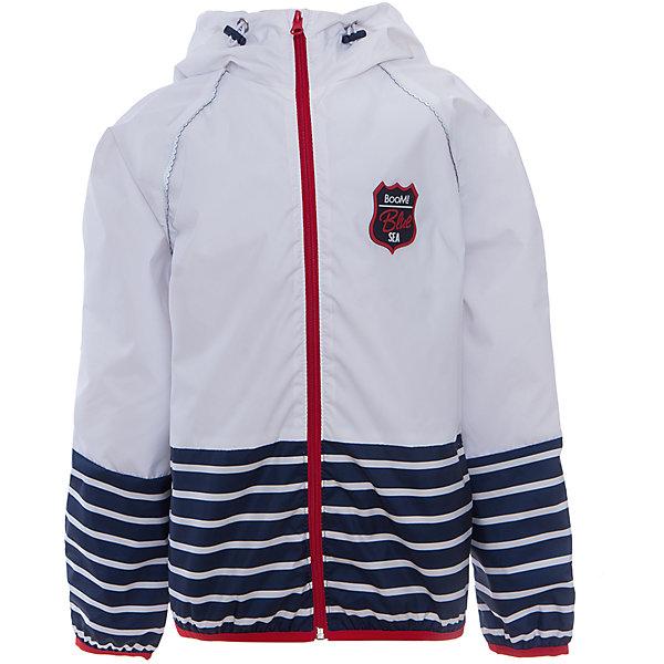 Куртка для девочки BOOM by OrbyВерхняя одежда<br>Характеристики товара:<br><br>• цвет: белый<br>• состав: 80% полиэстер, 20% хлопок, верх - таффета, подкладка - поликоттон, полиэстер, без утеплителя<br>• температурный режим: от +5°до +15°С<br>• карманы<br>• застежка - молния<br>• капюшон с утяжкой<br>• украшена нашивкой<br>• эластичные манжеты<br>• комфортная посадка<br>• страна производства: Российская Федерация<br>• страна бренда: Российская Федерация<br>• коллекция: весна-лето 2017<br><br>Легкая куртка - универсальный вариант и для прохладного летнего вечера, и для теплого межсезонья. Эта модель - модная и удобная одновременно! Изделие отличается стильным ярким дизайном. Куртка хорошо сидит по фигуре, отлично сочетается с различным низом. Вещь была разработана специально для детей.<br><br>Одежда от российского бренда BOOM by Orby уже завоевала популярностью у многих детей и их родителей. Вещи, выпускаемые компанией, качественные, продуманные и очень удобные. Для производства коллекций используются только безопасные для детей материалы. Спешите приобрести модели из новой коллекции Весна-лето 2017! <br><br>Куртку для девочки от бренда BOOM by Orby можно купить в нашем интернет-магазине.<br><br>Ширина мм: 356<br>Глубина мм: 10<br>Высота мм: 245<br>Вес г: 519<br>Цвет: белый<br>Возраст от месяцев: 36<br>Возраст до месяцев: 48<br>Пол: Женский<br>Возраст: Детский<br>Размер: 104,158,152,146,140,134,128,122,116,110,98,92,86<br>SKU: 5343549
