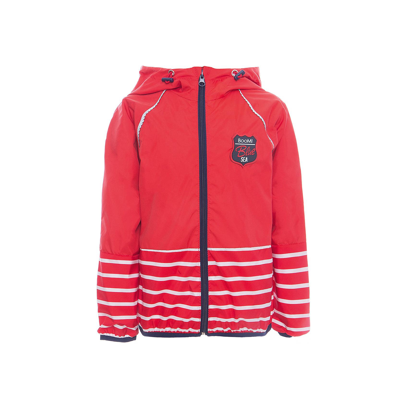 Куртка для девочки BOOM by OrbyВерхняя одежда<br>Характеристики товара:<br><br>• цвет: красный<br>• состав: 80% полиэстер, 20% хлопок, верх - таффета, подкладка - поликоттон, полиэстер, без утеплителя<br>• температурный режим: от +5°до +15°С<br>• карманы<br>• застежка - молния<br>• капюшон с утяжкой<br>• украшена нашивкой<br>• эластичные манжеты<br>• комфортная посадка<br>• страна производства: Российская Федерация<br>• страна бренда: Российская Федерация<br>• коллекция: весна-лето 2017<br><br>Легкая куртка - универсальный вариант и для прохладного летнего вечера, и для теплого межсезонья. Эта модель - модная и удобная одновременно! Изделие отличается стильным ярким дизайном. Куртка хорошо сидит по фигуре, отлично сочетается с различным низом. Вещь была разработана специально для детей.<br><br>Одежда от российского бренда BOOM by Orby уже завоевала популярностью у многих детей и их родителей. Вещи, выпускаемые компанией, качественные, продуманные и очень удобные. Для производства коллекций используются только безопасные для детей материалы. Спешите приобрести модели из новой коллекции Весна-лето 2017! <br><br>Куртку для девочки от бренда BOOM by Orby можно купить в нашем интернет-магазине.<br><br>Ширина мм: 356<br>Глубина мм: 10<br>Высота мм: 245<br>Вес г: 519<br>Цвет: красный<br>Возраст от месяцев: 36<br>Возраст до месяцев: 48<br>Пол: Женский<br>Возраст: Детский<br>Размер: 104,158,152,86,92,98,110,116,122,128,134,140,146<br>SKU: 5343563