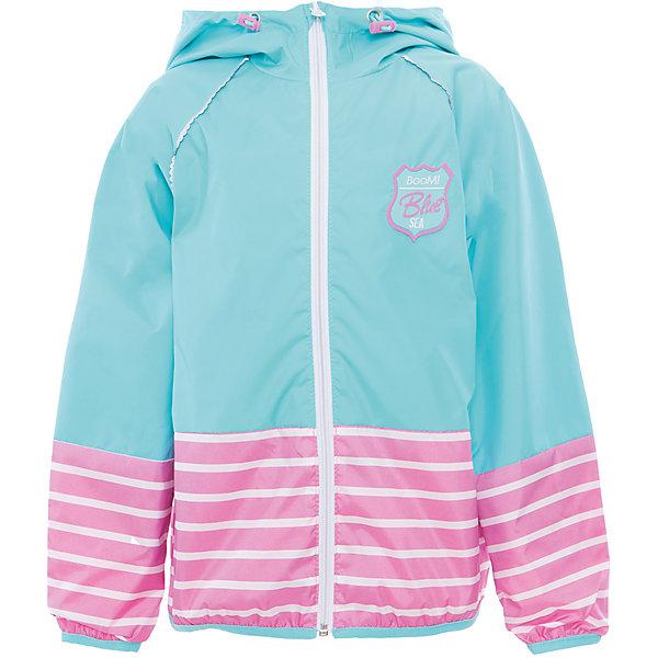 Куртка для девочки BOOM by OrbyВерхняя одежда<br>Характеристики товара:<br><br>• цвет: голубой<br>• состав: 80% полиэстер, 20% хлопок, верх - таффета, подкладка - поликоттон, полиэстер, без утеплителя<br>• температурный режим: от +5°до +15°С<br>• карманы<br>• застежка - молния<br>• капюшон с утяжкой<br>• украшена нашивкой<br>• эластичные манжеты<br>• комфортная посадка<br>• страна производства: Российская Федерация<br>• страна бренда: Российская Федерация<br>• коллекция: весна-лето 2017<br><br>Легкая куртка - универсальный вариант и для прохладного летнего вечера, и для теплого межсезонья. Эта модель - модная и удобная одновременно! Изделие отличается стильным ярким дизайном. Куртка хорошо сидит по фигуре, отлично сочетается с различным низом. Вещь была разработана специально для детей.<br><br>Одежда от российского бренда BOOM by Orby уже завоевала популярностью у многих детей и их родителей. Вещи, выпускаемые компанией, качественные, продуманные и очень удобные. Для производства коллекций используются только безопасные для детей материалы. Спешите приобрести модели из новой коллекции Весна-лето 2017! <br><br>Куртку для девочки от бренда BOOM by Orby можно купить в нашем интернет-магазине.<br><br>Ширина мм: 356<br>Глубина мм: 10<br>Высота мм: 245<br>Вес г: 519<br>Цвет: голубой<br>Возраст от месяцев: 120<br>Возраст до месяцев: 132<br>Пол: Женский<br>Возраст: Детский<br>Размер: 146,158,104,86,92,98,110,116,122,128,134,140,152<br>SKU: 5343577
