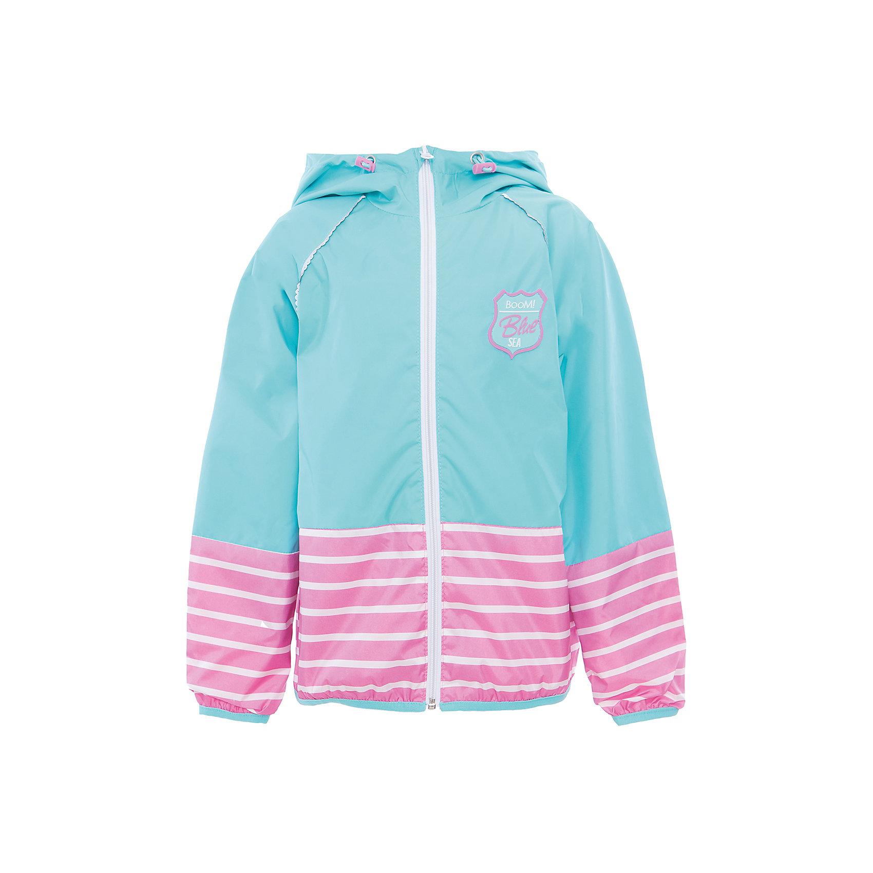 Куртка для девочки BOOM by OrbyВесенняя капель<br>Характеристики товара:<br><br>• цвет: голубой<br>• состав: 80% полиэстер, 20% хлопок, верх - таффета, подкладка - поликоттон, полиэстер, без утеплителя<br>• температурный режим: от +5°до +15°С<br>• карманы<br>• застежка - молния<br>• капюшон с утяжкой<br>• украшена нашивкой<br>• эластичные манжеты<br>• комфортная посадка<br>• страна производства: Российская Федерация<br>• страна бренда: Российская Федерация<br>• коллекция: весна-лето 2017<br><br>Легкая куртка - универсальный вариант и для прохладного летнего вечера, и для теплого межсезонья. Эта модель - модная и удобная одновременно! Изделие отличается стильным ярким дизайном. Куртка хорошо сидит по фигуре, отлично сочетается с различным низом. Вещь была разработана специально для детей.<br><br>Одежда от российского бренда BOOM by Orby уже завоевала популярностью у многих детей и их родителей. Вещи, выпускаемые компанией, качественные, продуманные и очень удобные. Для производства коллекций используются только безопасные для детей материалы. Спешите приобрести модели из новой коллекции Весна-лето 2017! <br><br>Куртку для девочки от бренда BOOM by Orby можно купить в нашем интернет-магазине.<br><br>Ширина мм: 356<br>Глубина мм: 10<br>Высота мм: 245<br>Вес г: 519<br>Цвет: голубой<br>Возраст от месяцев: 36<br>Возраст до месяцев: 48<br>Пол: Женский<br>Возраст: Детский<br>Размер: 104,158,86,92,98,110,116,122,128,134,140,146,152<br>SKU: 5343577