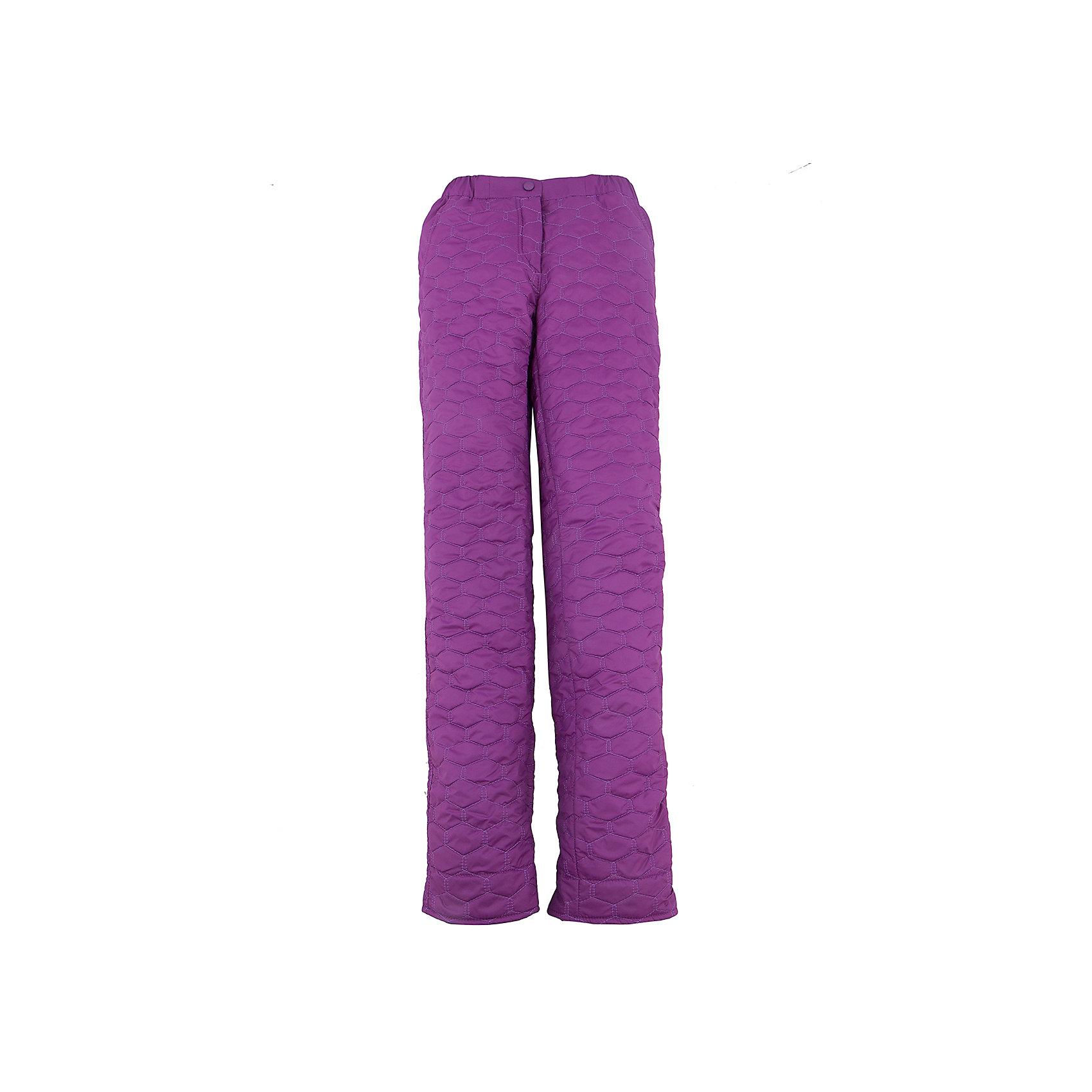 Брюки для девочки BOOM by OrbyВерхняя одежда<br>Характеристики товара:<br><br>• цвет: фиолетовый<br>• состав: 100% полиэстер; верх - таффета, подкладка - флис, без утеплителя<br>• температурный режим: от +15°до +5°С<br>• стеганые<br>• до 122 роста комплектуются съемными эластичными бретелями.<br>• с 128 роста есть регулировка по полноте и ширинка.<br>• карманы<br>• комфортная посадка<br>• страна производства: Российская Федерация<br>• страна бренда: Российская Федерация<br>• коллекция: весна-лето 2017<br><br><br>Такие брюки - универсальный вариант для межсезонья с постоянно меняющейся погодой. Эта модель - модная и удобная одновременно! Изделие отличается стильным продуманным дизайном. Брюки хорошо сидят по фигуре, отлично сочетаются с различным верхом. Вещь была разработана специально для детей.<br><br>Одежда от российского бренда BOOM by Orby уже завоевала популярностью у многих детей и их родителей. Вещи, выпускаемые компанией, качественные, продуманные и очень удобные. Для производства коллекций используются только безопасные для детей материалы. Спешите приобрести модели из новой коллекции Весна-лето 2017! <br><br>Брюки для девочки от бренда BOOM by Orby можно купить в нашем интернет-магазине.<br><br>Ширина мм: 215<br>Глубина мм: 88<br>Высота мм: 191<br>Вес г: 336<br>Цвет: лиловый<br>Возраст от месяцев: 144<br>Возраст до месяцев: 156<br>Пол: Женский<br>Возраст: Детский<br>Размер: 158,104,110,92,98,116,122,128,134,140,146,152<br>SKU: 5343617