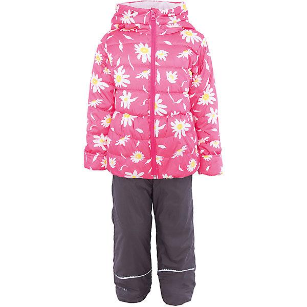 Комплект для девочки BOOM by OrbyВерхняя одежда<br>Характеристики товара:<br><br>• цвет: розовый/серый<br>• состав: <br>курточка: верх - таффета, подкладка - поликоттон, полиэстер, утеплитель: эко-синтепон 150 г/м2<br>брюки: верх - таффета, подкладка - флис<br>• комплектация: куртка, брюки<br>• температурный режим: от -5 С° до +10 С° <br>• из непромокаемой ткани, с водо и грязеотталкивающими пропитками<br>• застежка - молния<br>• благодаря манжетам-отворотам значительно регулируется размер<br>• куртка декорирована принтом<br>• комфортная посадка<br>• страна производства: Российская Федерация<br>• страна бренда: Российская Федерация<br>• коллекция: весна-лето 2017<br><br>Такой комплект - универсальный вариант для межсезонья с постоянно меняющейся погодой. Эта модель - модная и удобная одновременно! Изделие отличается стильным ярким дизайном. Куртка и брюки хорошо сидят по фигуре, отлично сочетается с различной обувью. Модель была разработана специально для детей.<br><br>Одежда от российского бренда BOOM by Orby уже завоевала популярностью у многих детей и их родителей. Вещи, выпускаемые компанией, качественные, продуманные и очень удобные. Для производства коллекций используются только безопасные для детей материалы. Спешите приобрести модели из новой коллекции Весна-лето 2017! <br><br>Комплект для девочки от бренда BOOM by Orby можно купить в нашем интернет-магазине.<br><br>Ширина мм: 356<br>Глубина мм: 10<br>Высота мм: 245<br>Вес г: 519<br>Цвет: розовый<br>Возраст от месяцев: 24<br>Возраст до месяцев: 36<br>Пол: Женский<br>Возраст: Детский<br>Размер: 98,104,122,116,110,92,86<br>SKU: 5343646
