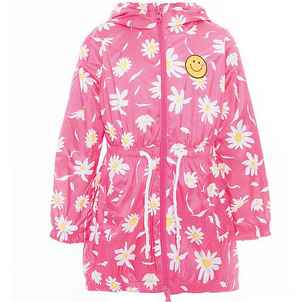 Плащ для девочки BOOM by OrbyВерхняя одежда<br>Характеристики товара:<br><br>• цвет: розовый<br>• состав: верх - таффета, подкладка - полиэстер, флис, без утеплителя<br>• температурный режим: от 0° до +15°С<br>• демисезон<br>• капюшон<br>• застежка - молния<br>• декорирован нашивкой<br>• принт<br>• шнурок в поясе<br>• комфортная посадка<br>• страна производства: Российская Федерация<br>• страна бренда: Российская Федерация<br>• коллекция: весна-лето 2017<br><br>Такой плащ - универсальный вариант для теплого межсезонья с постоянно меняющейся погодой. Эта модель - модная и удобная одновременно! Изделие отличается стильным ярким дизайном. Плащ хорошо сидит по фигуре, отлично сочетается с различным низом. Вещь была разработана специально для детей.<br><br>Плащ для девочки от бренда BOOM by Orby можно купить в нашем интернет-магазине.<br><br>Ширина мм: 356<br>Глубина мм: 10<br>Высота мм: 245<br>Вес г: 519<br>Цвет: розовый<br>Возраст от месяцев: 96<br>Возраст до месяцев: 108<br>Пол: Женский<br>Возраст: Детский<br>Размер: 134,128,122,116,98,110,158,104,146,152,140<br>SKU: 5343766