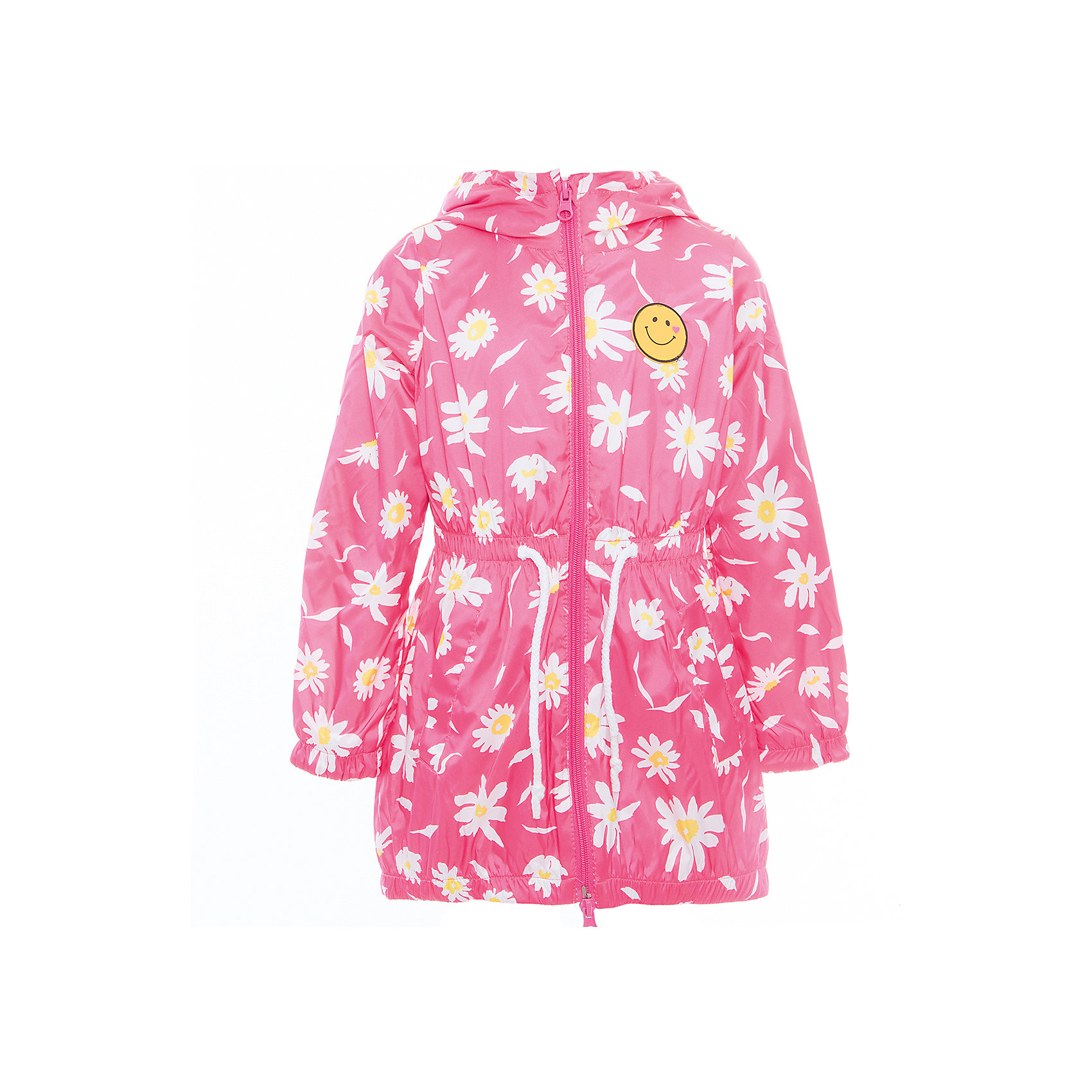 Плащ для девочки BOOM by OrbyВерхняя одежда<br>Характеристики товара:<br><br>• цвет: розовый<br>• состав: верх - таффета, подкладка - полиэстер, флис, без утеплителя<br>• температурный режим: от 0° до +15°С<br>• демисезон<br>• капюшон<br>• застежка - молния<br>• декорирован нашивкой<br>• принт<br>• шнурок в поясе<br>• комфортная посадка<br>• страна производства: Российская Федерация<br>• страна бренда: Российская Федерация<br>• коллекция: весна-лето 2017<br><br>Такой плащ - универсальный вариант для теплого межсезонья с постоянно меняющейся погодой. Эта модель - модная и удобная одновременно! Изделие отличается стильным ярким дизайном. Плащ хорошо сидит по фигуре, отлично сочетается с различным низом. Вещь была разработана специально для детей.<br><br>Плащ для девочки от бренда BOOM by Orby можно купить в нашем интернет-магазине.<br><br>Ширина мм: 356<br>Глубина мм: 10<br>Высота мм: 245<br>Вес г: 519<br>Цвет: розовый<br>Возраст от месяцев: 144<br>Возраст до месяцев: 156<br>Пол: Женский<br>Возраст: Детский<br>Размер: 116,122,128,134,140,158,146,104,110,98,152<br>SKU: 5343766
